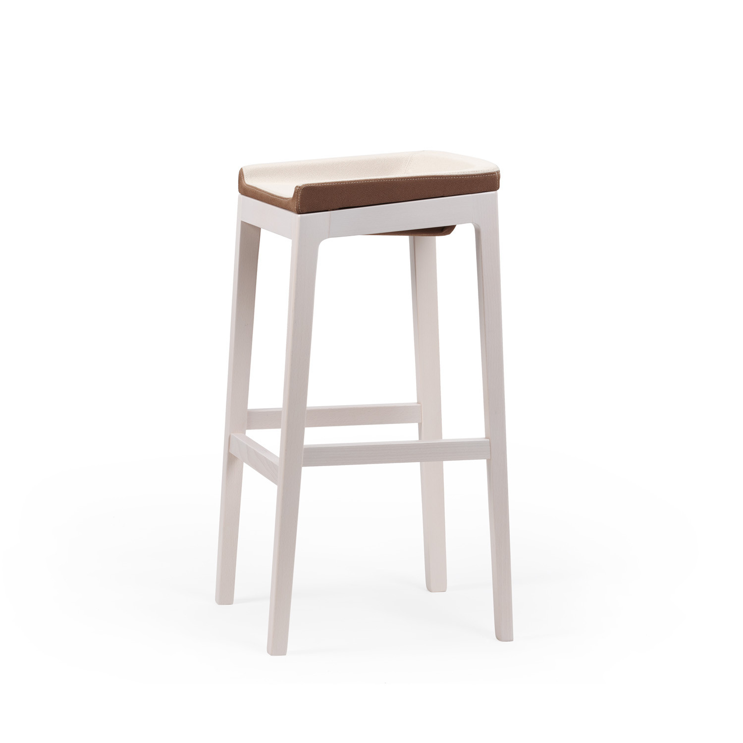 Tonic Bar Stool Wooden by Rossin