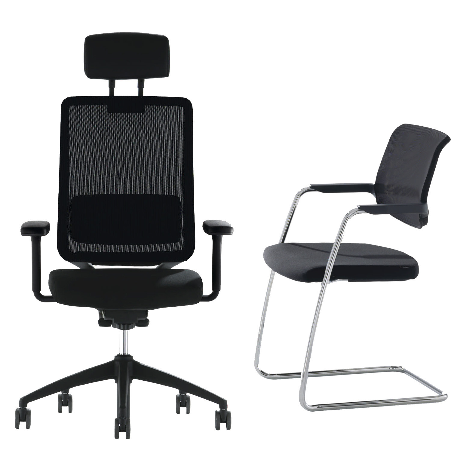 Too Mesh Office Seating Range
