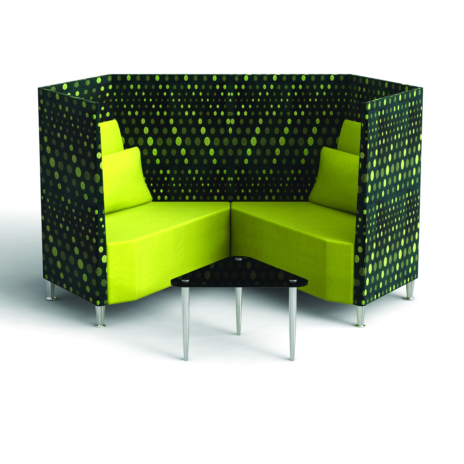Trapeze Reception Sofa