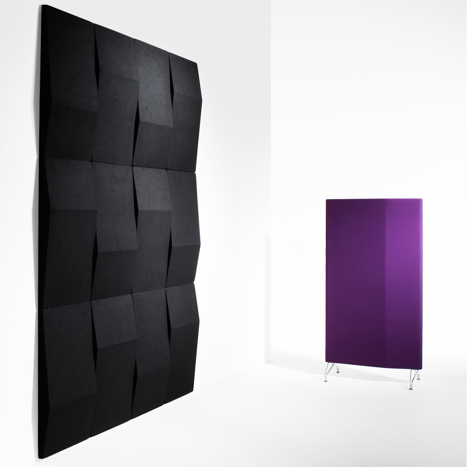 Triline Sound Absorbing Wall Panels