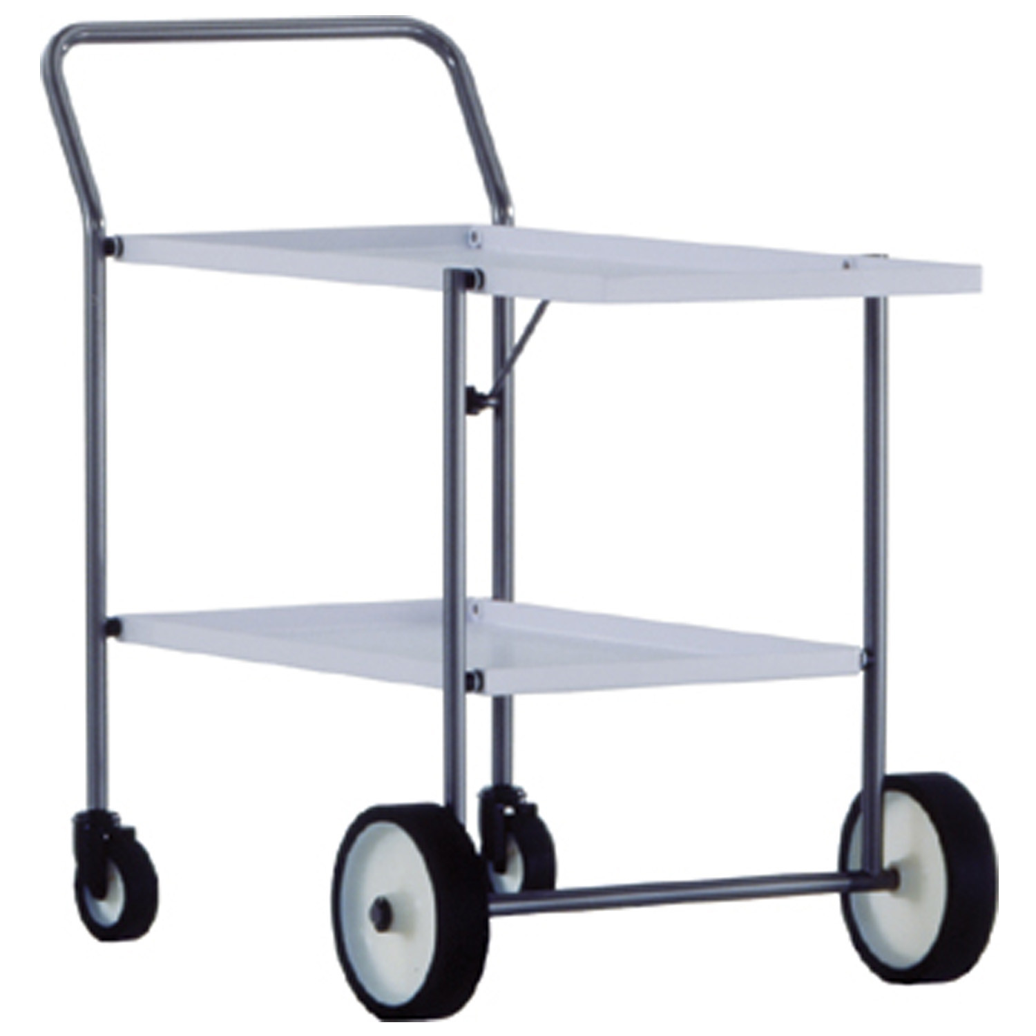 Green Outdoor High-End Serving Trolley