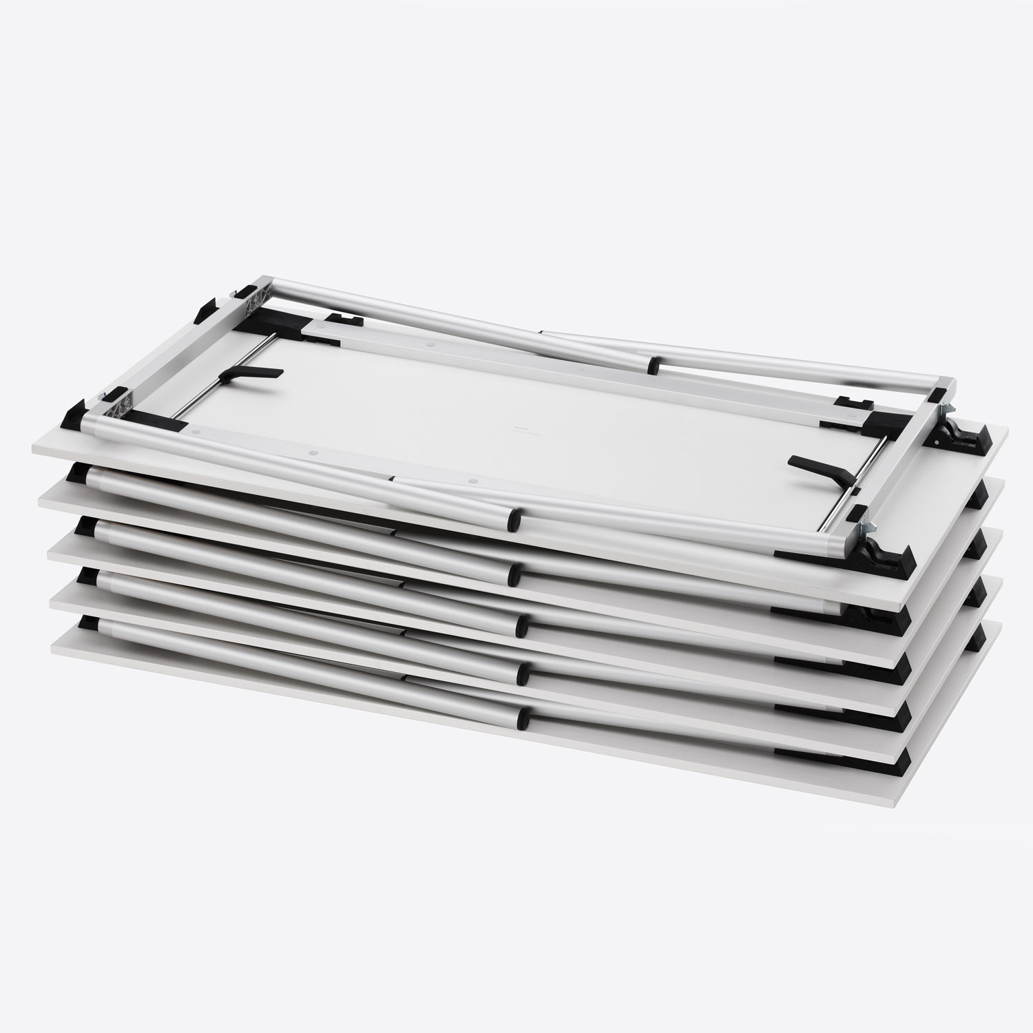 Trust Folding Tables Stacked