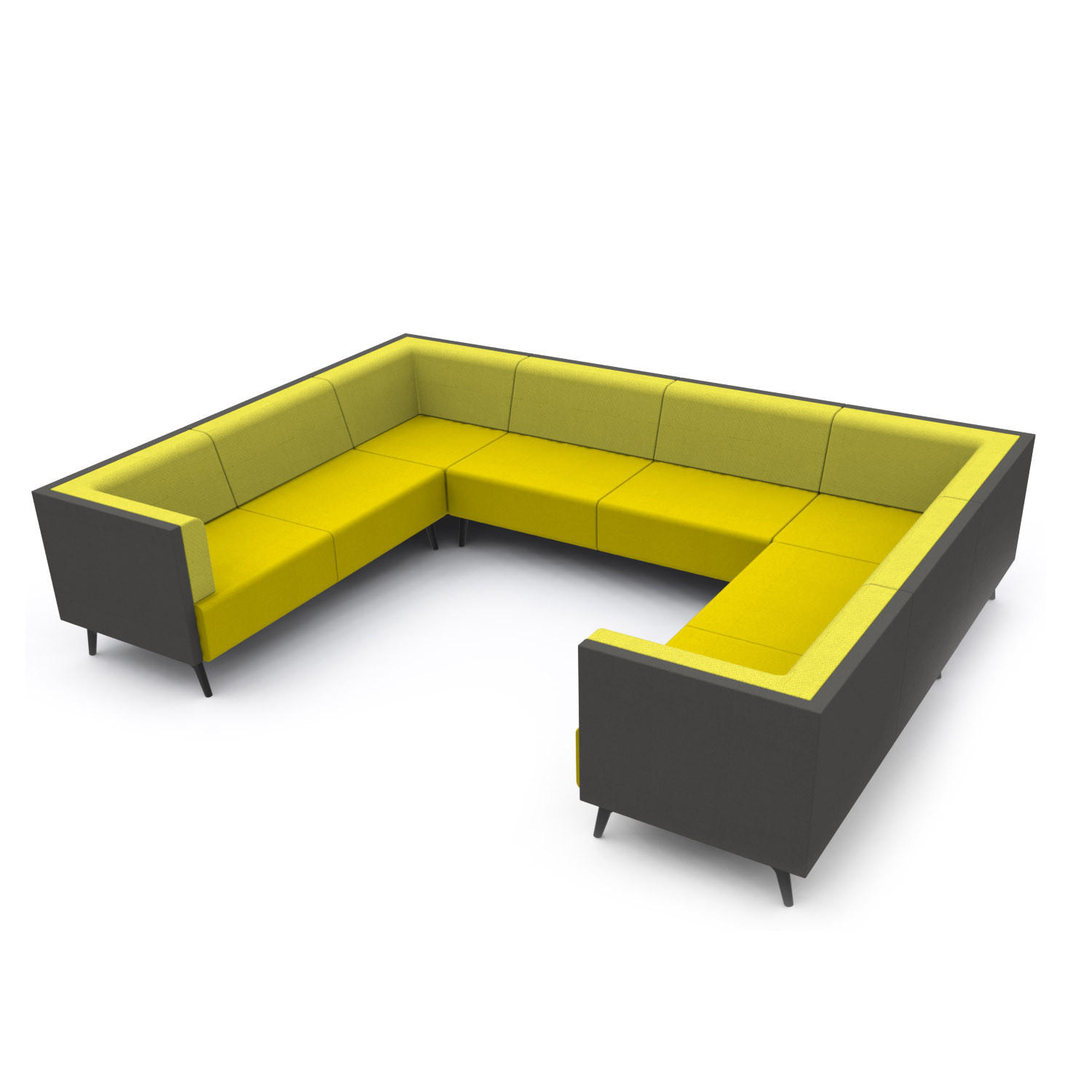 Tryst U-Shaped Sofa by Roger Webb Associates