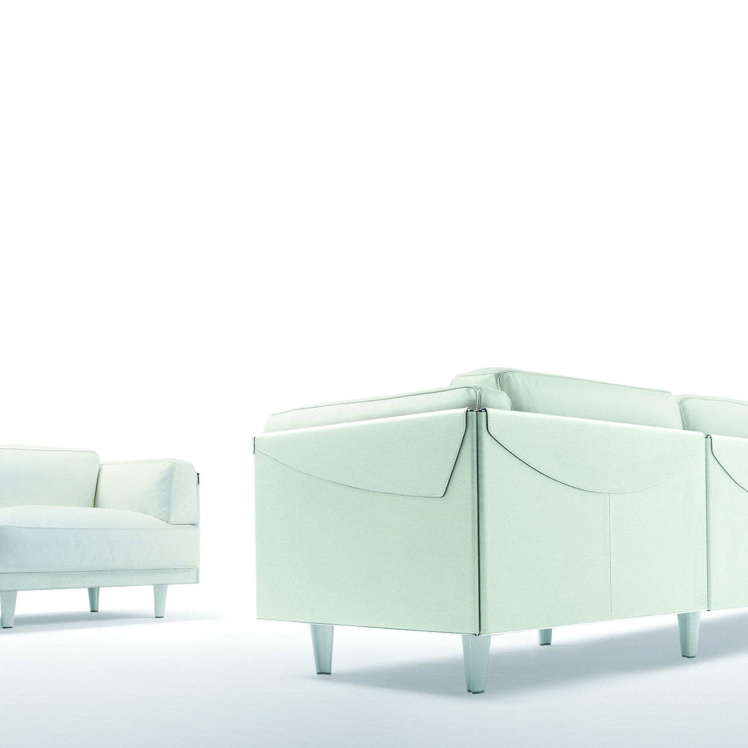Twice Sofas by Pierluigi Cerri
