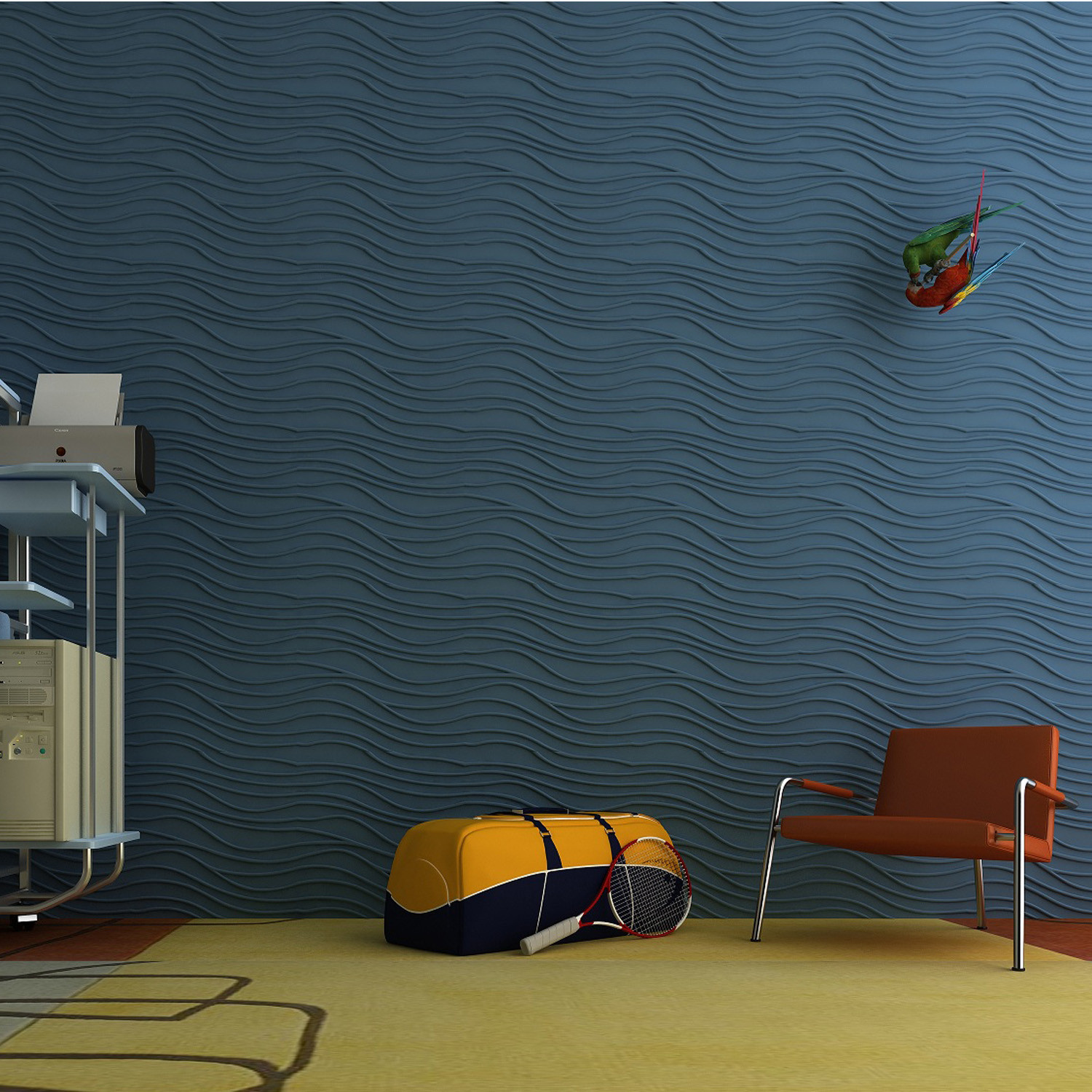 Twig Wall Panels by Soundtect