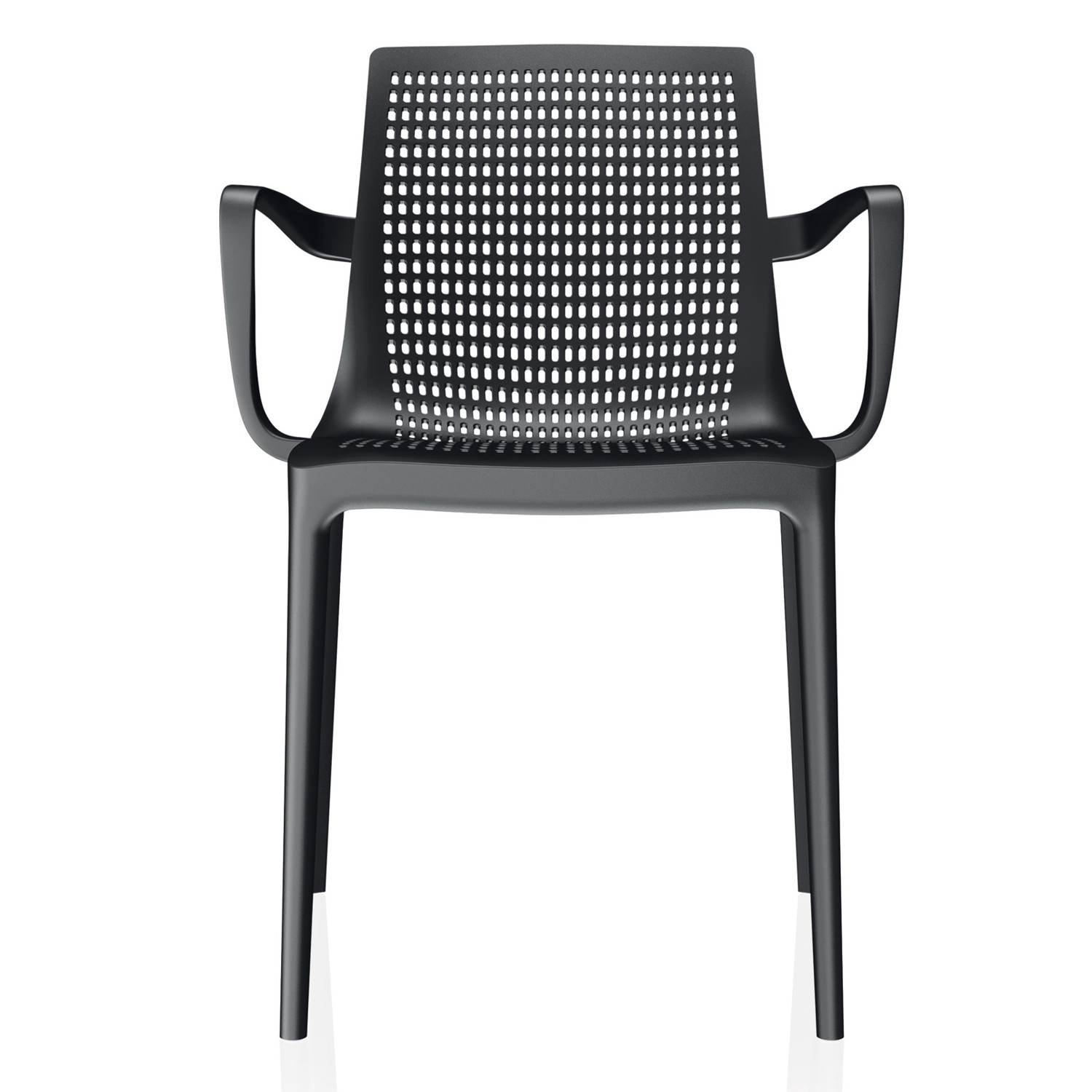 Twin Chair with Transparent Net Structure