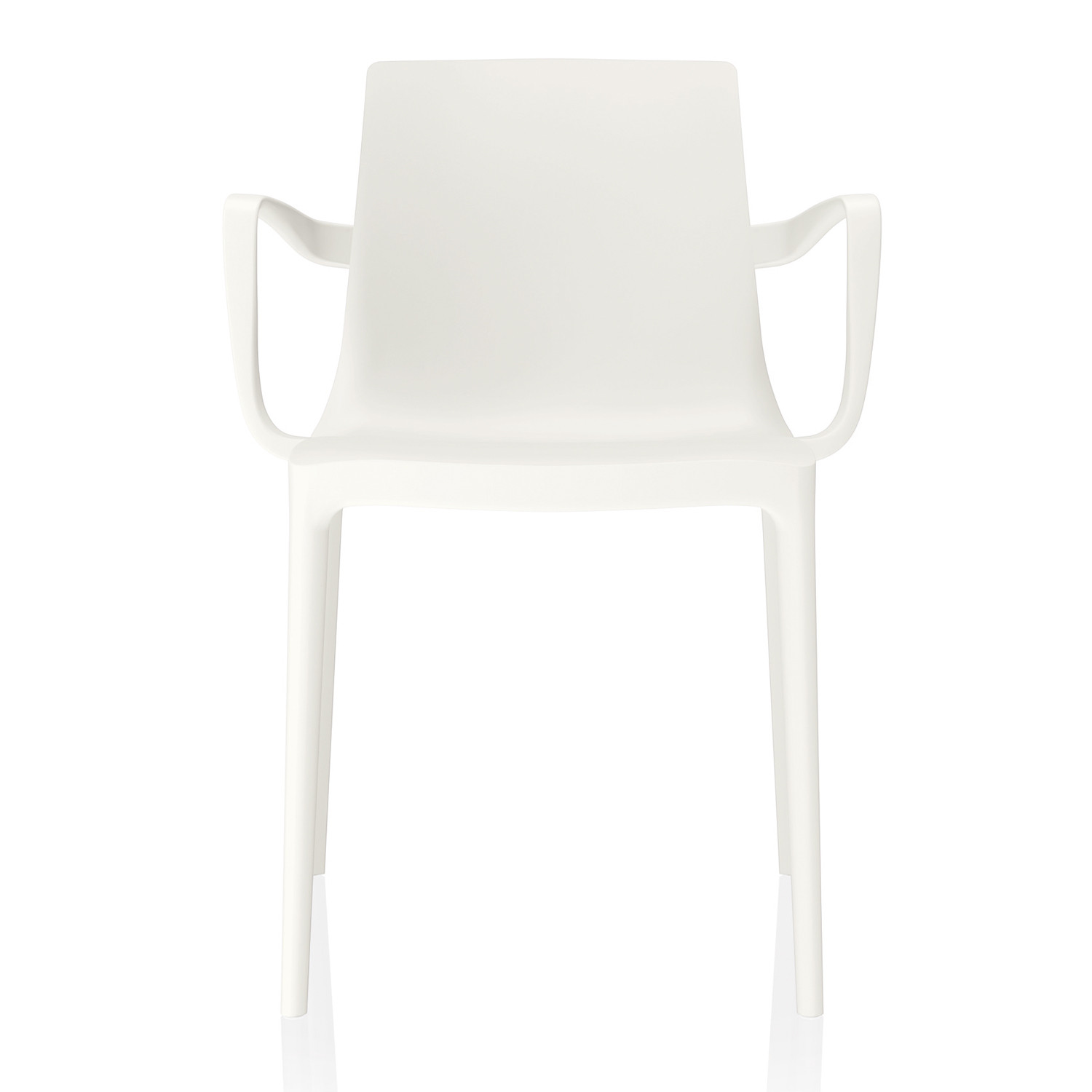Twin Outdoor 4-Legged Chair with Armrests