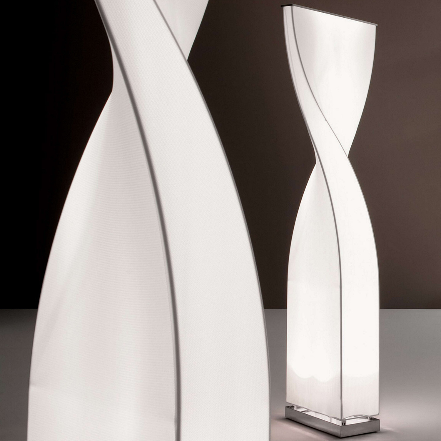Twisty Floor Standing Lamps
