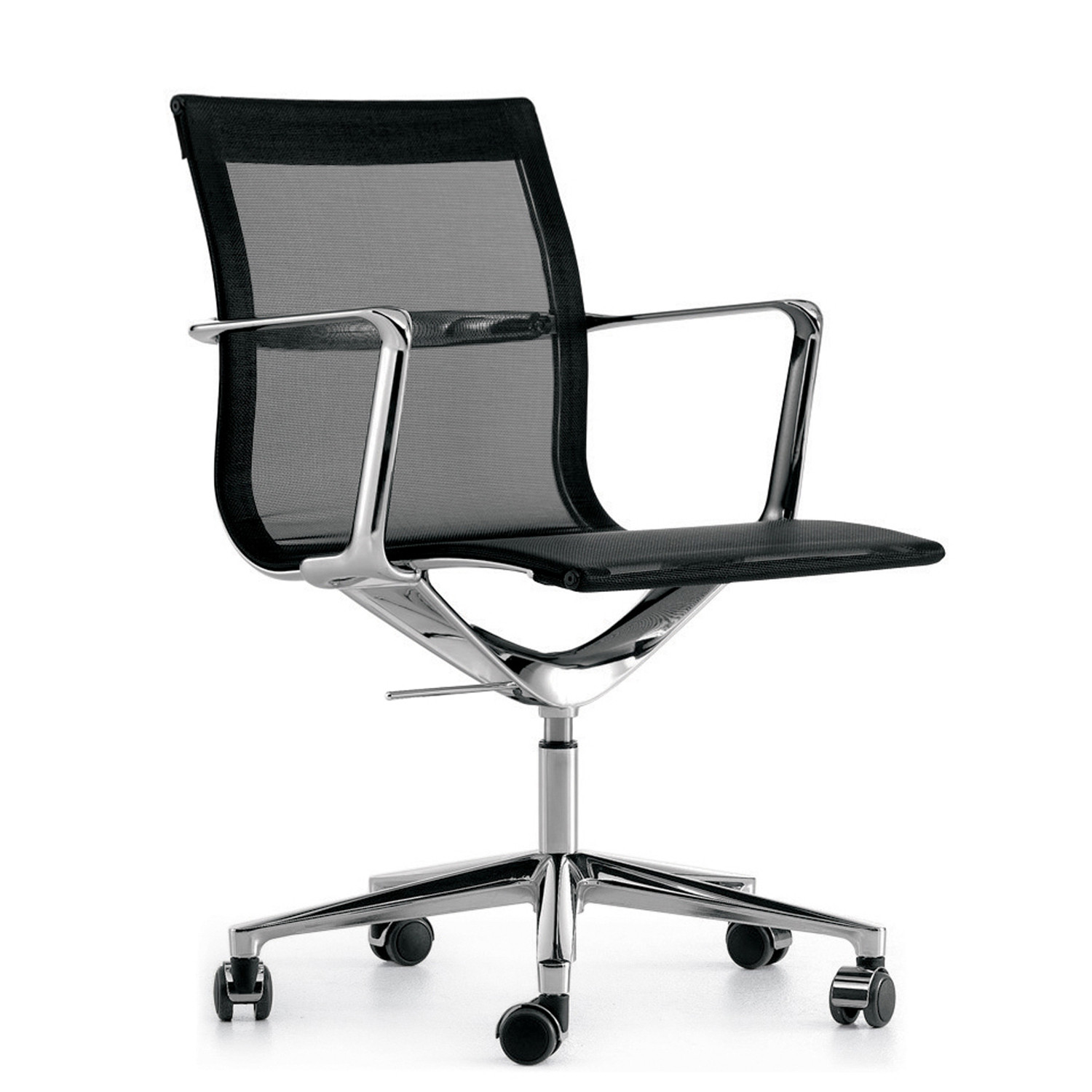 Una Mesh Back Chair on Castors