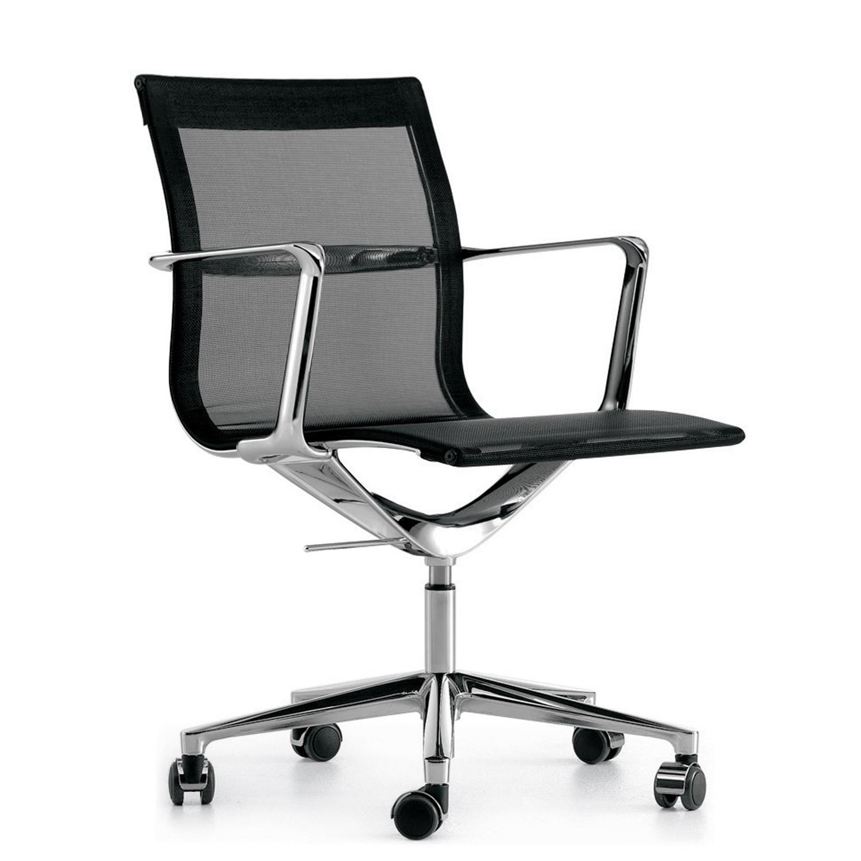 Una Mesh Back Chair on Castors