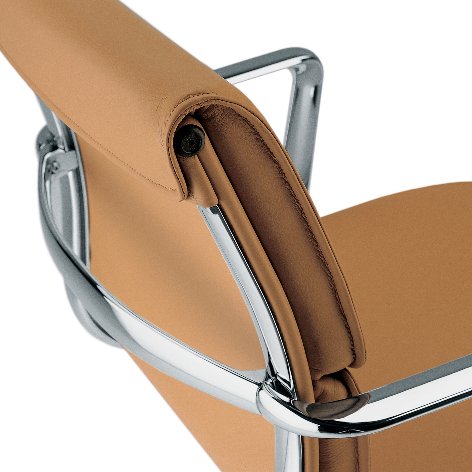 Una Executive Leather Armchair Detail