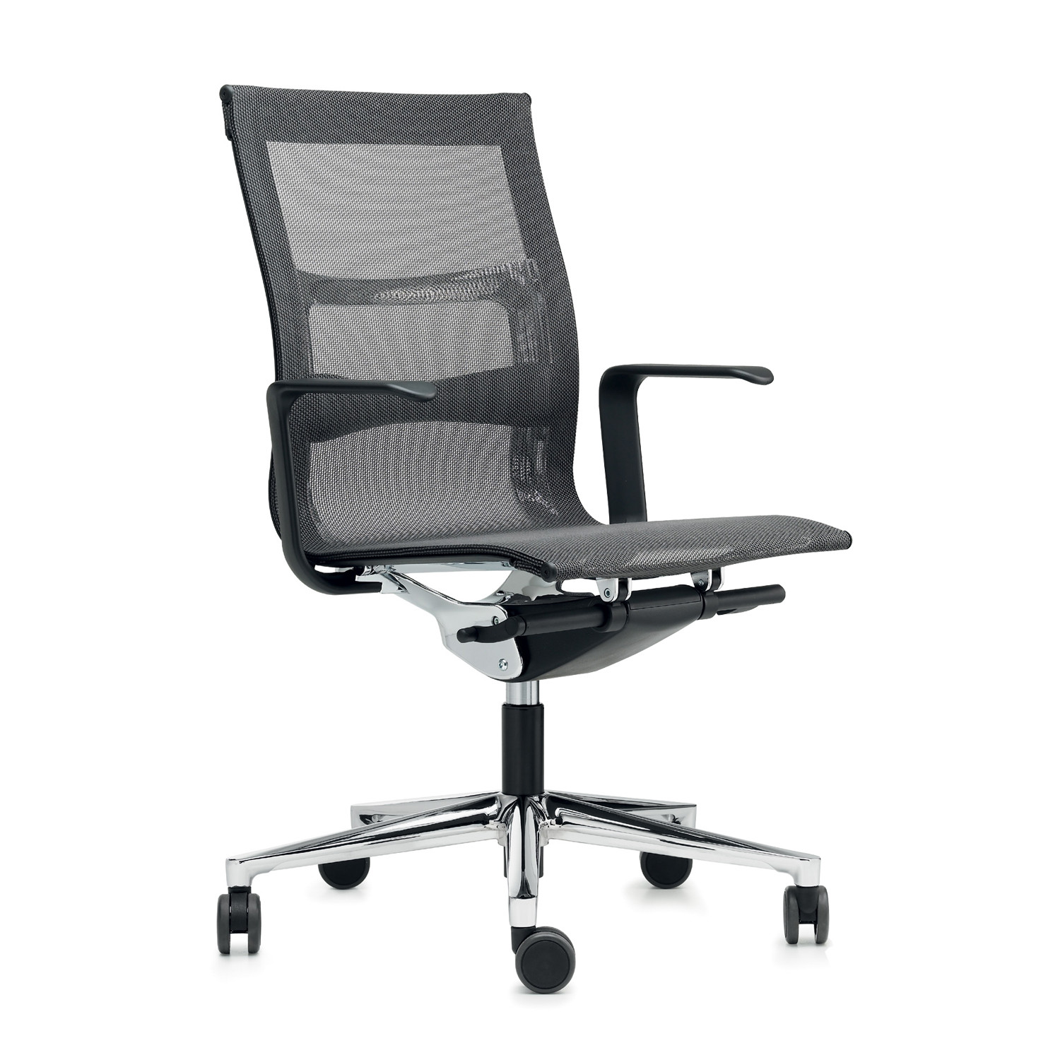 Una Plus Mesh Back Chair with arms