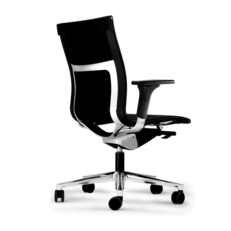 Una Plus Office Chair back detail