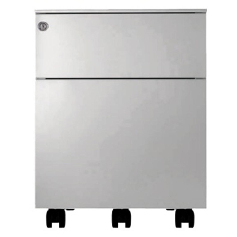 Universal Mobile 420 Pedestal 1 box drawer + 1 file drawer