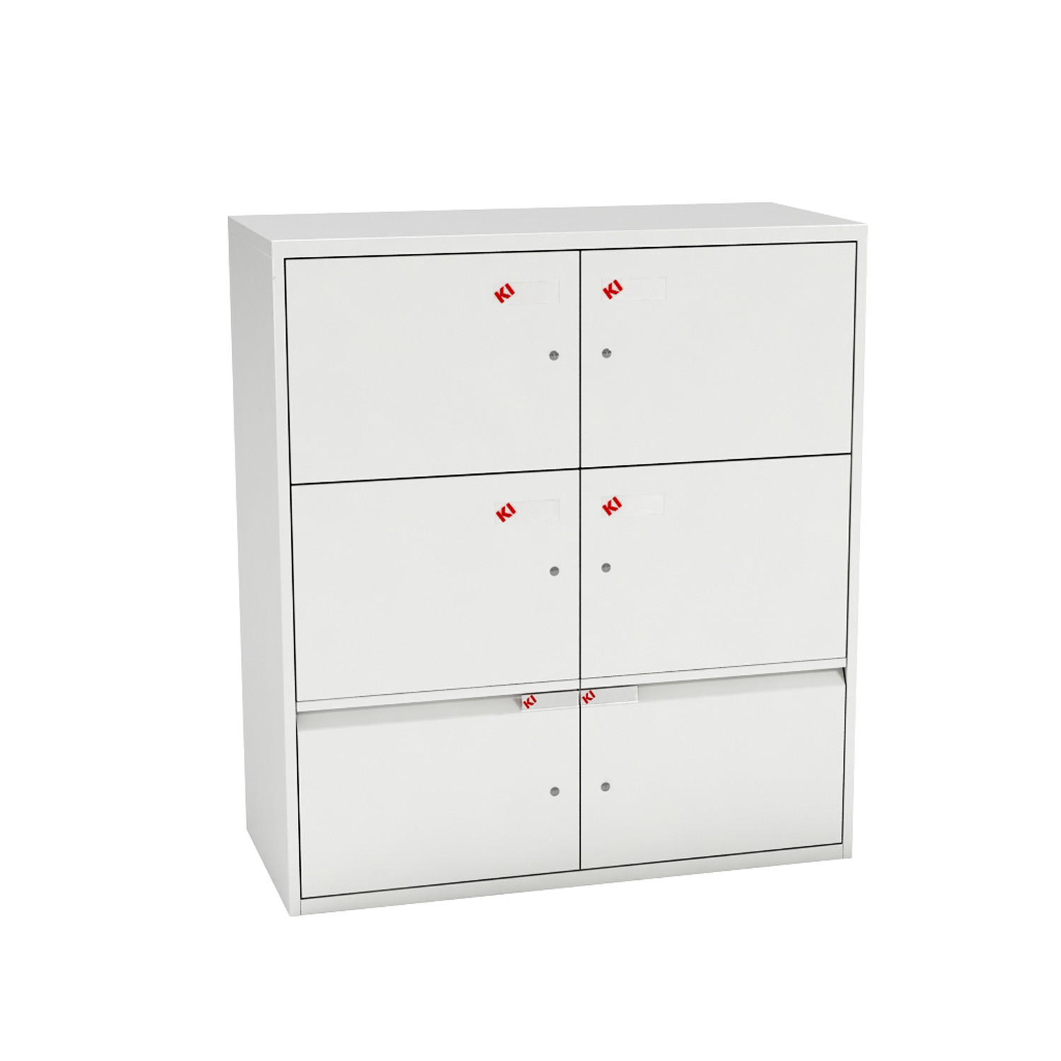 UniteSE Personal Office Storage - 6 compartments