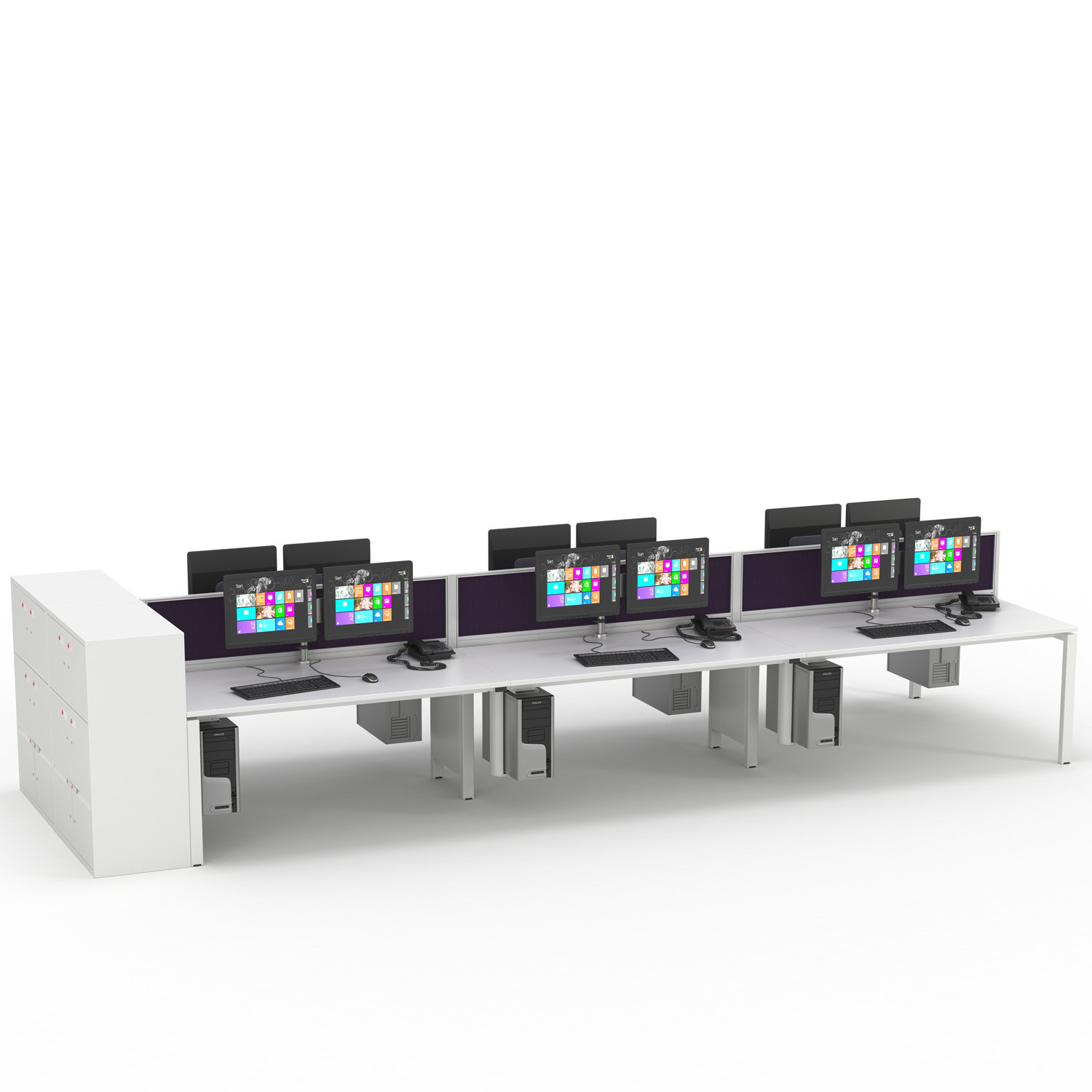 Unite SE Workstations with Screens