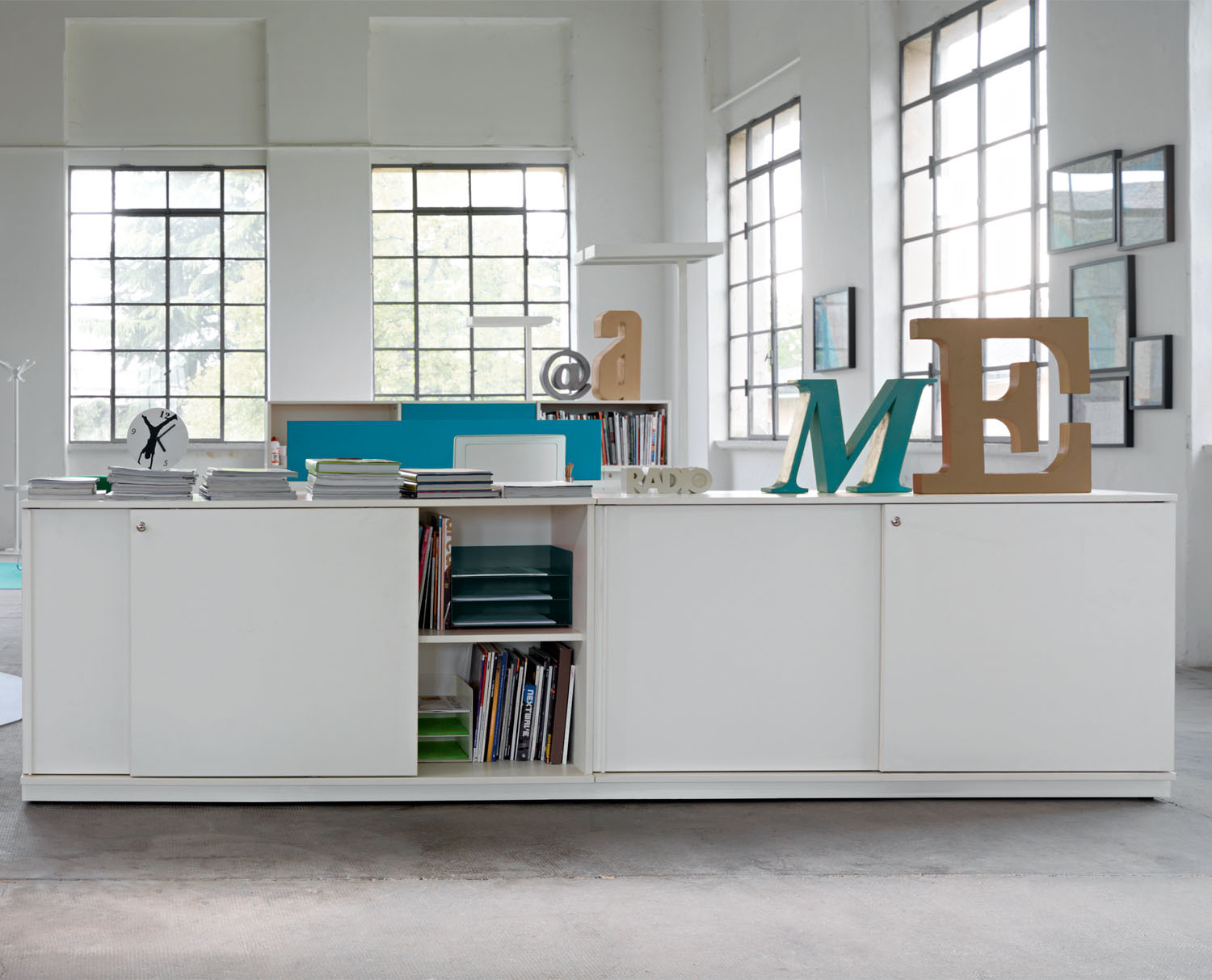 use me office storage  sinetica use me storage  apres furniture -  use me storage cabinets by sinetica
