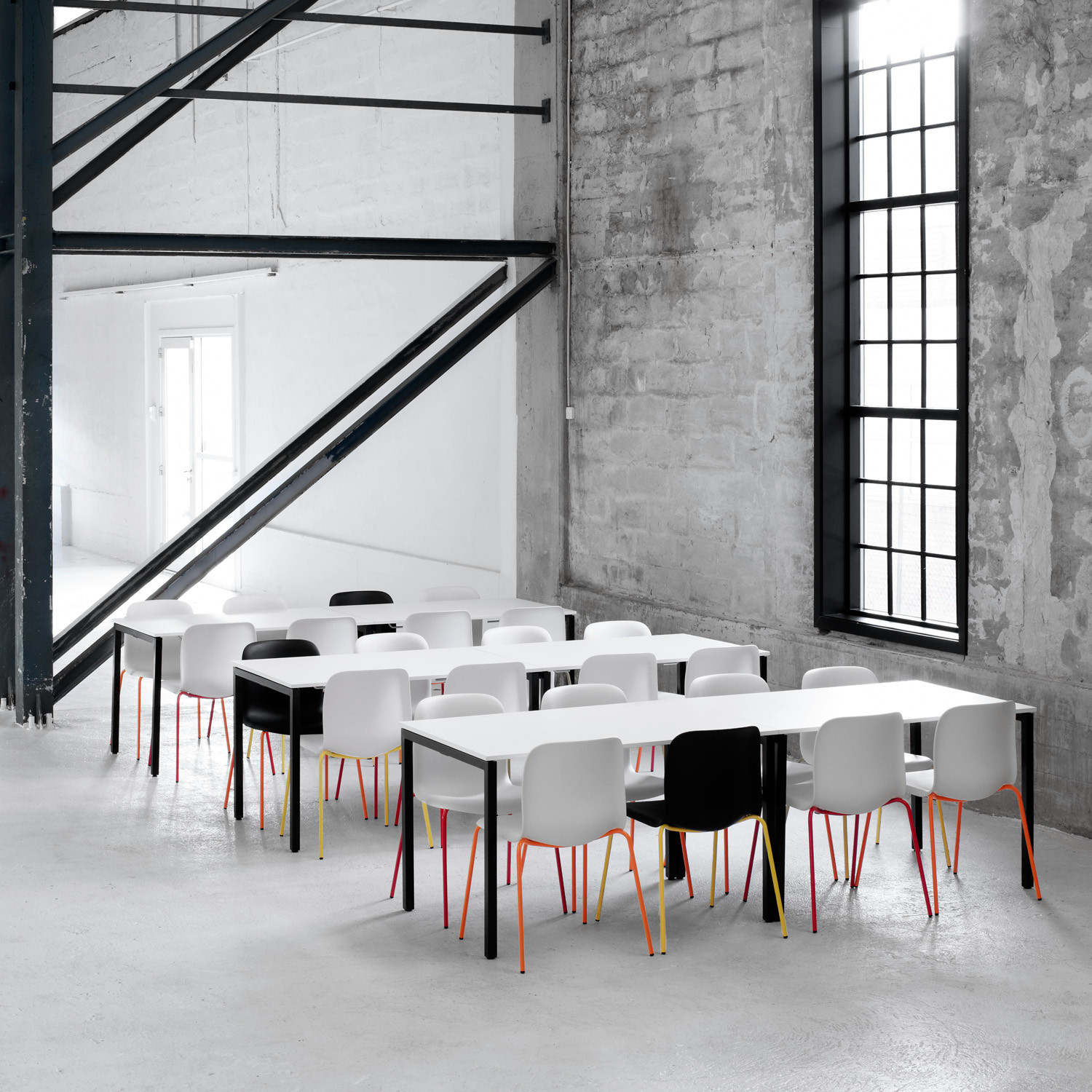 Usu Canteen Tables by Howe