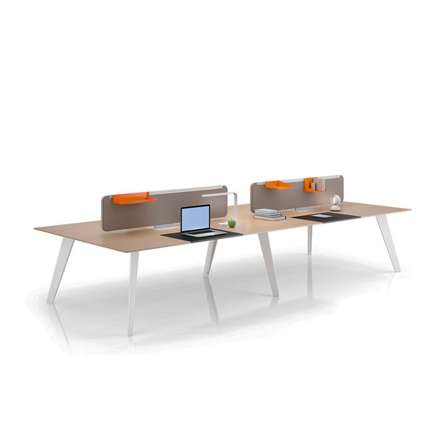 Vee Bench Desk by Norbert Geelen