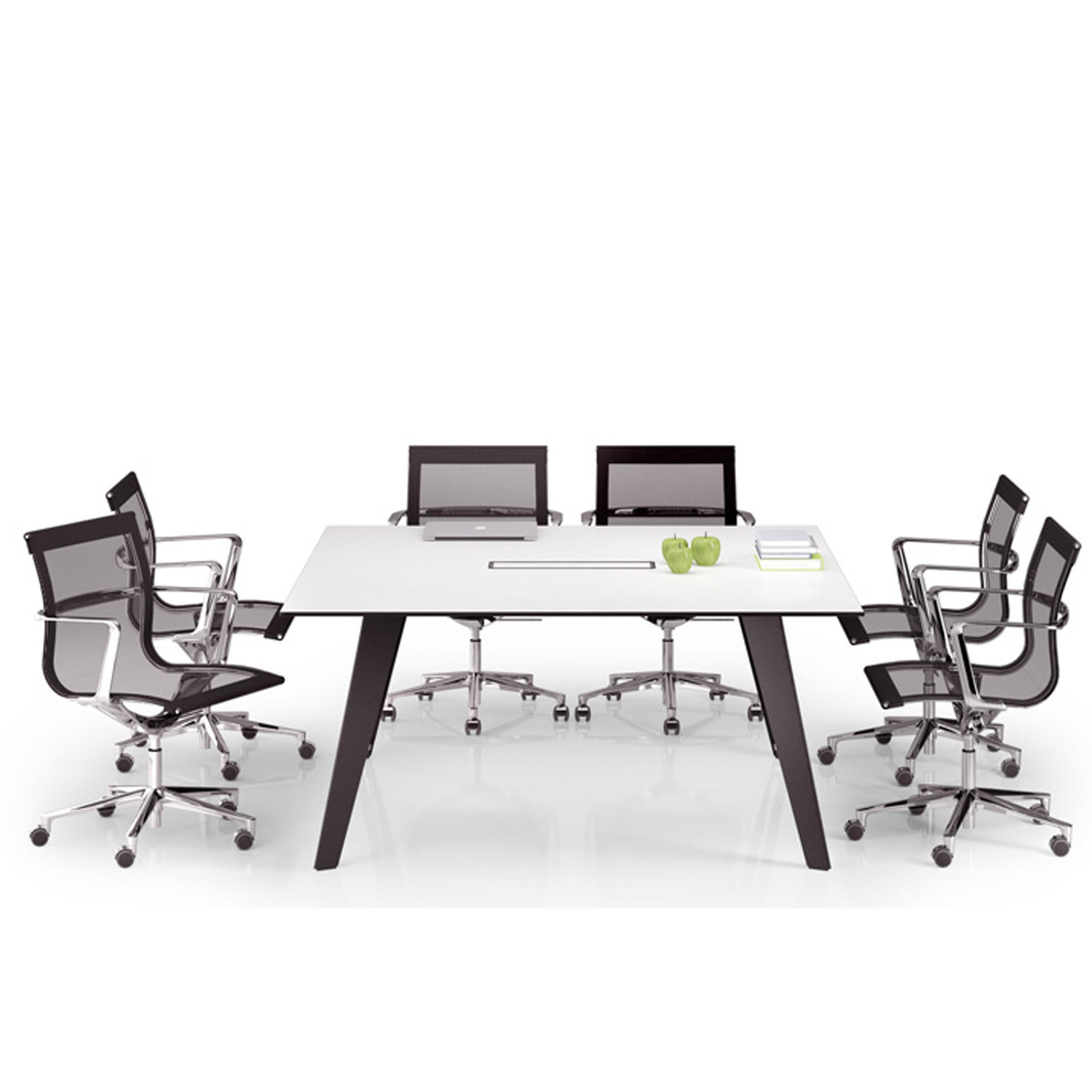 Vee Rectangular Meeting Table