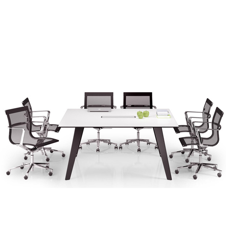 Vee Rectangular Meeting Table