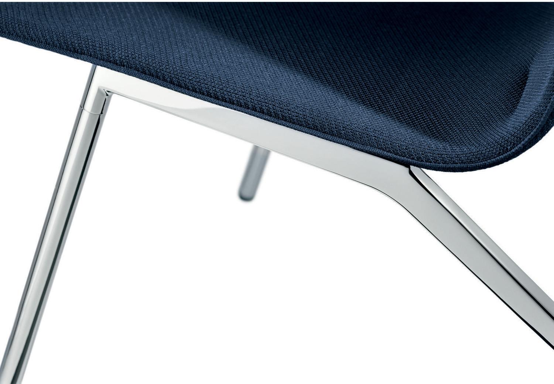 Velas tubular steel legs detail