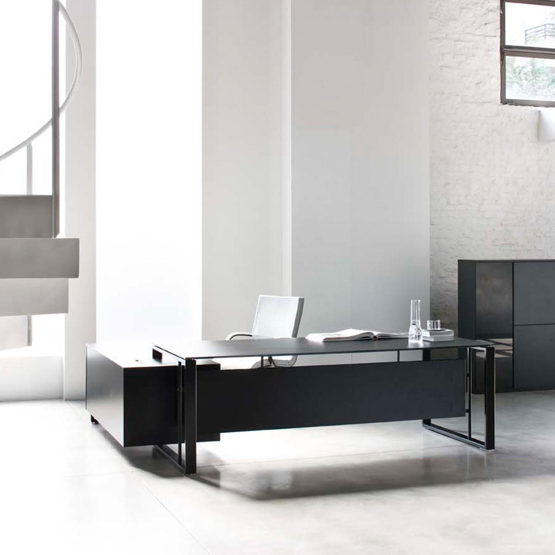 Velvet Manager Desk and Storage
