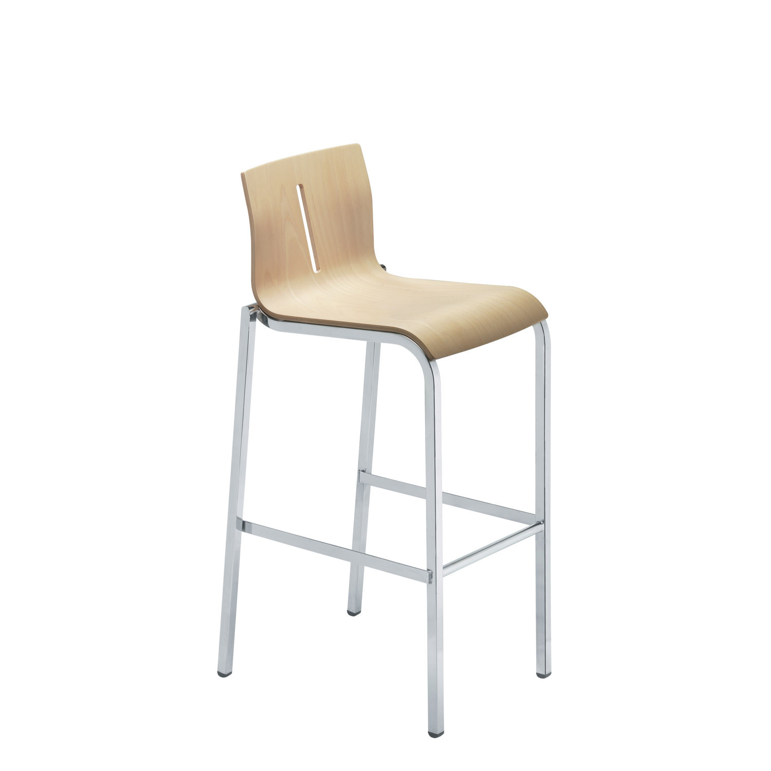 Vent Beech Wood Bar Stool