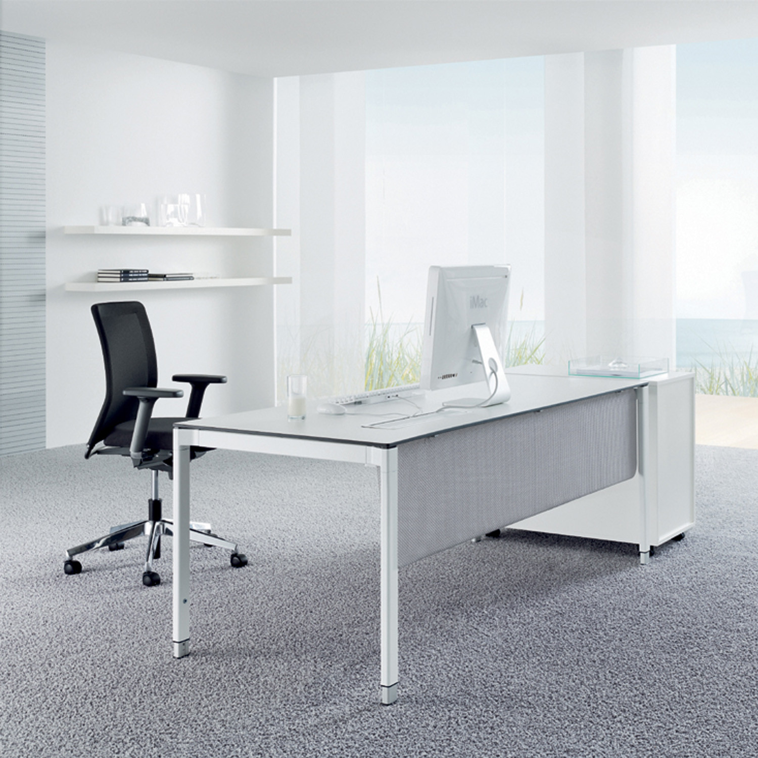 Veron Modern Office Tables by Wiesner Hager