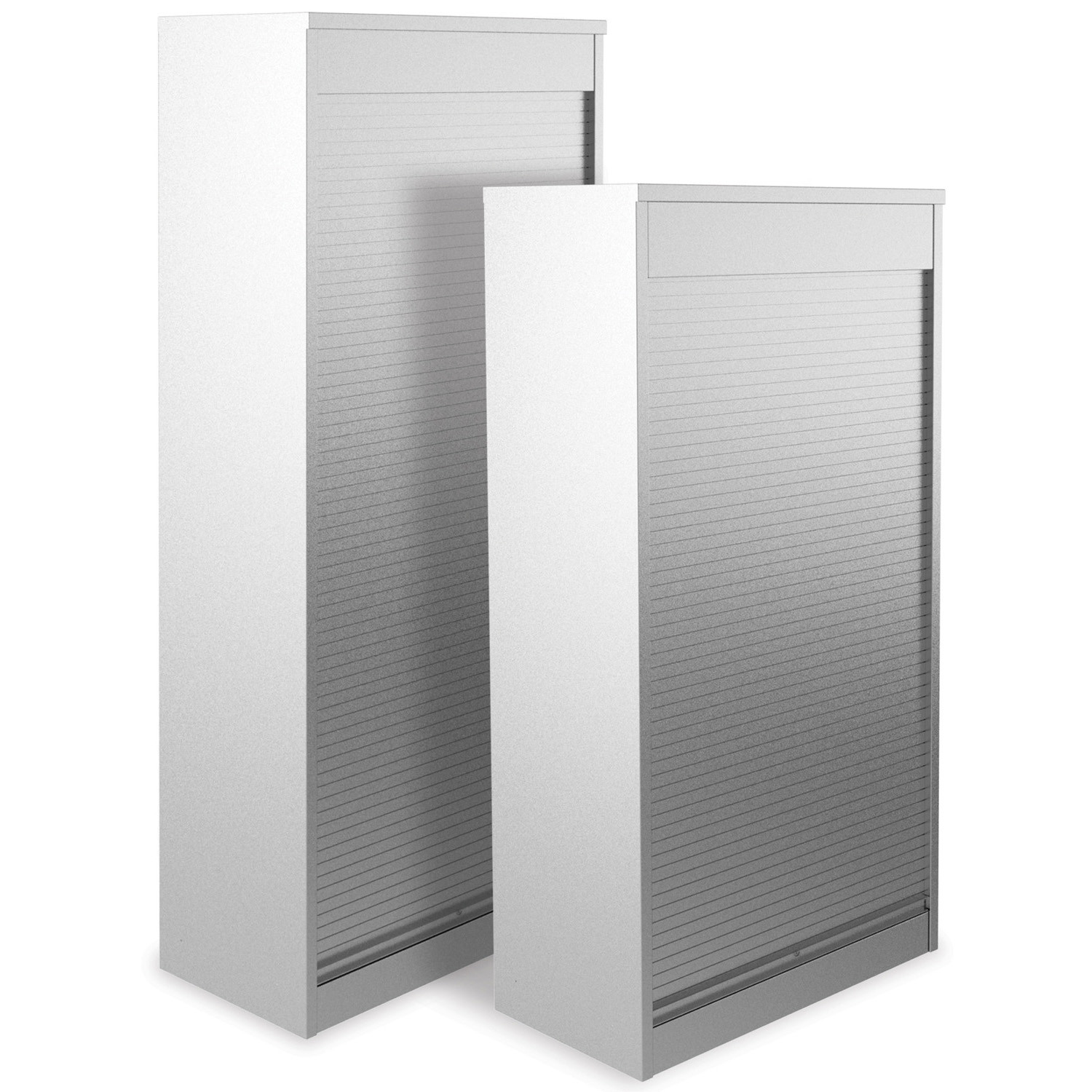 Vertical Tambour Office Cupboards