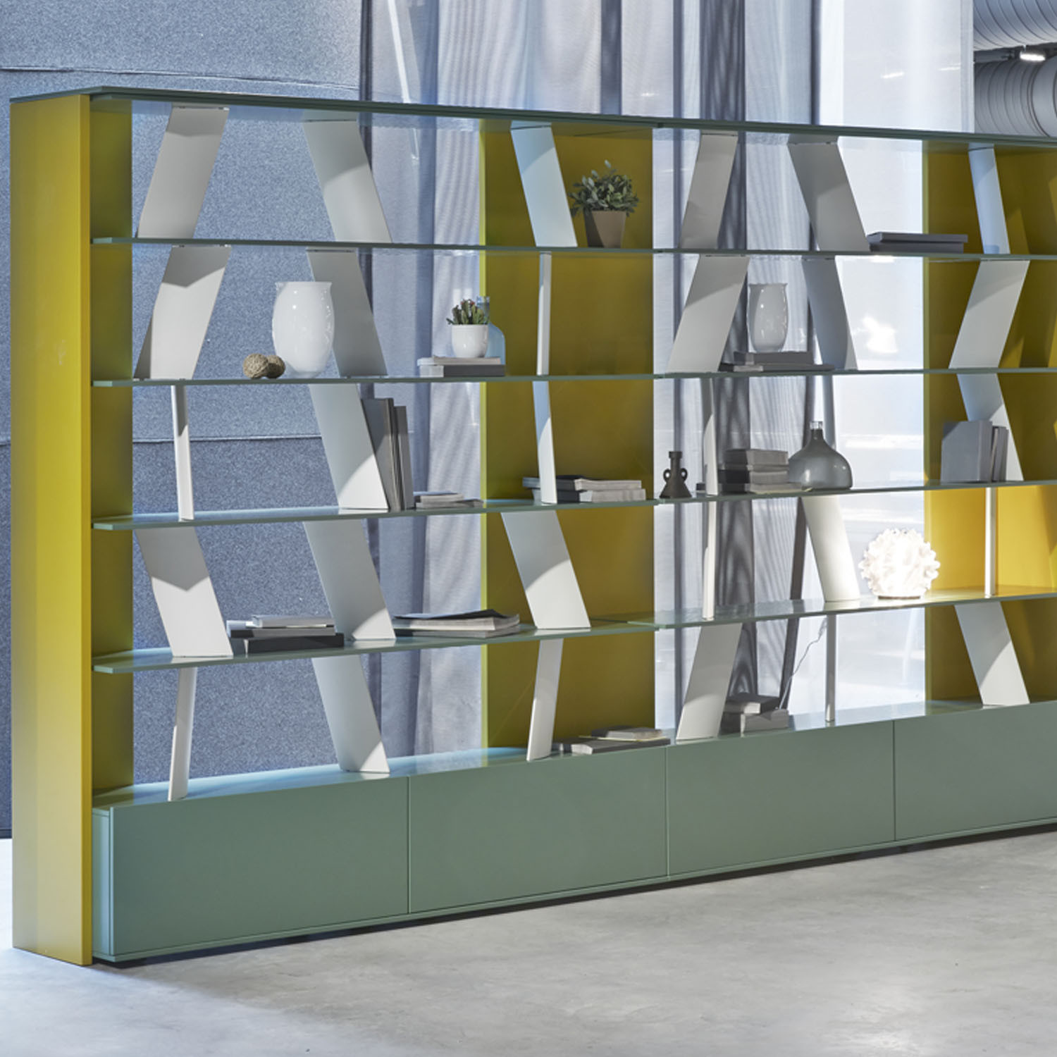 Vis Light Cabinet Storage by Koleksiyon