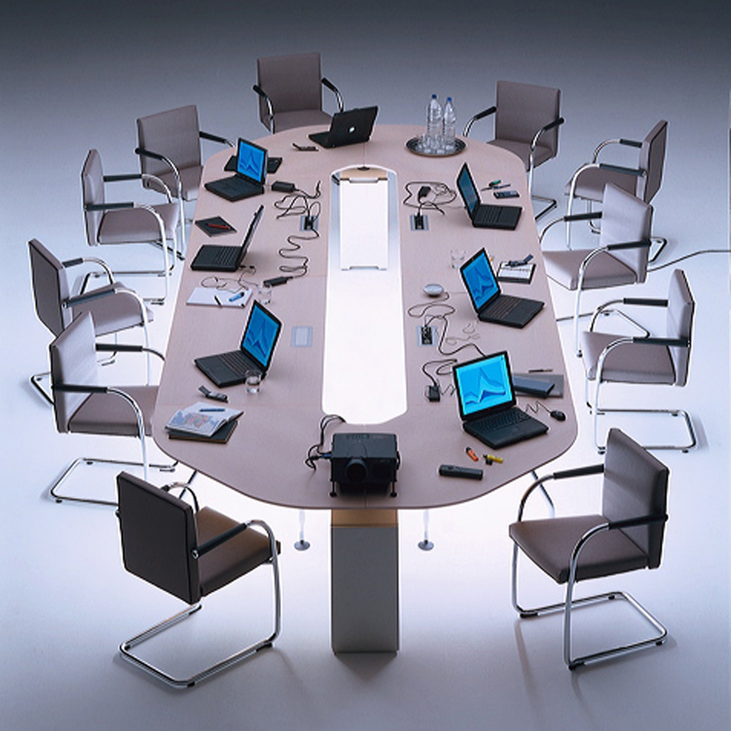Visasoft Cantilever Boardroom Chairs
