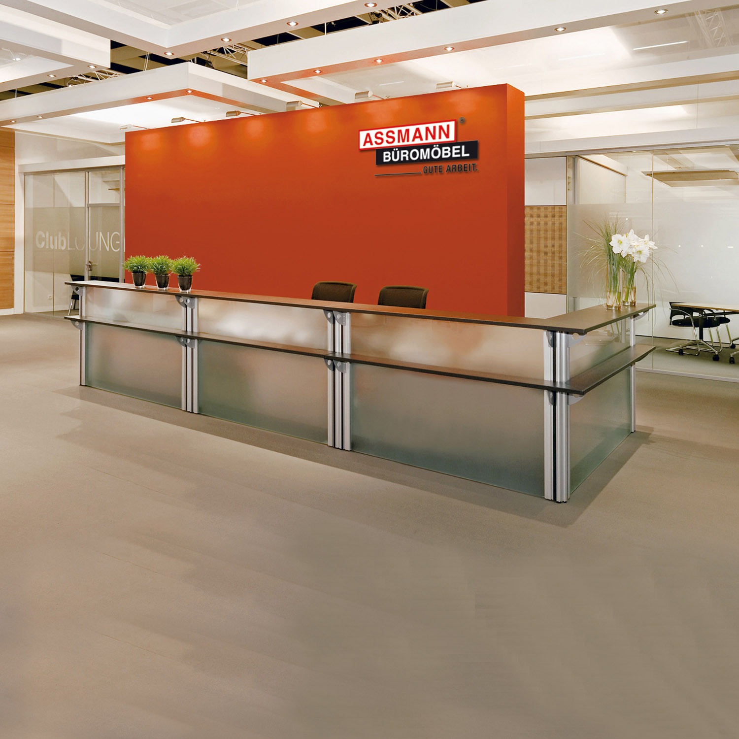 VisitASS Reception Desks from Assmann
