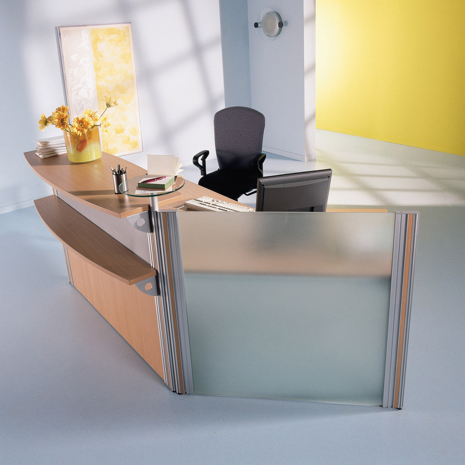 VisitASS Small Reception Desk