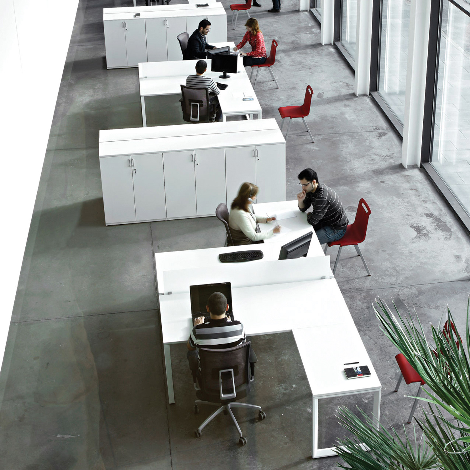 Vital Plus ST Office Desking