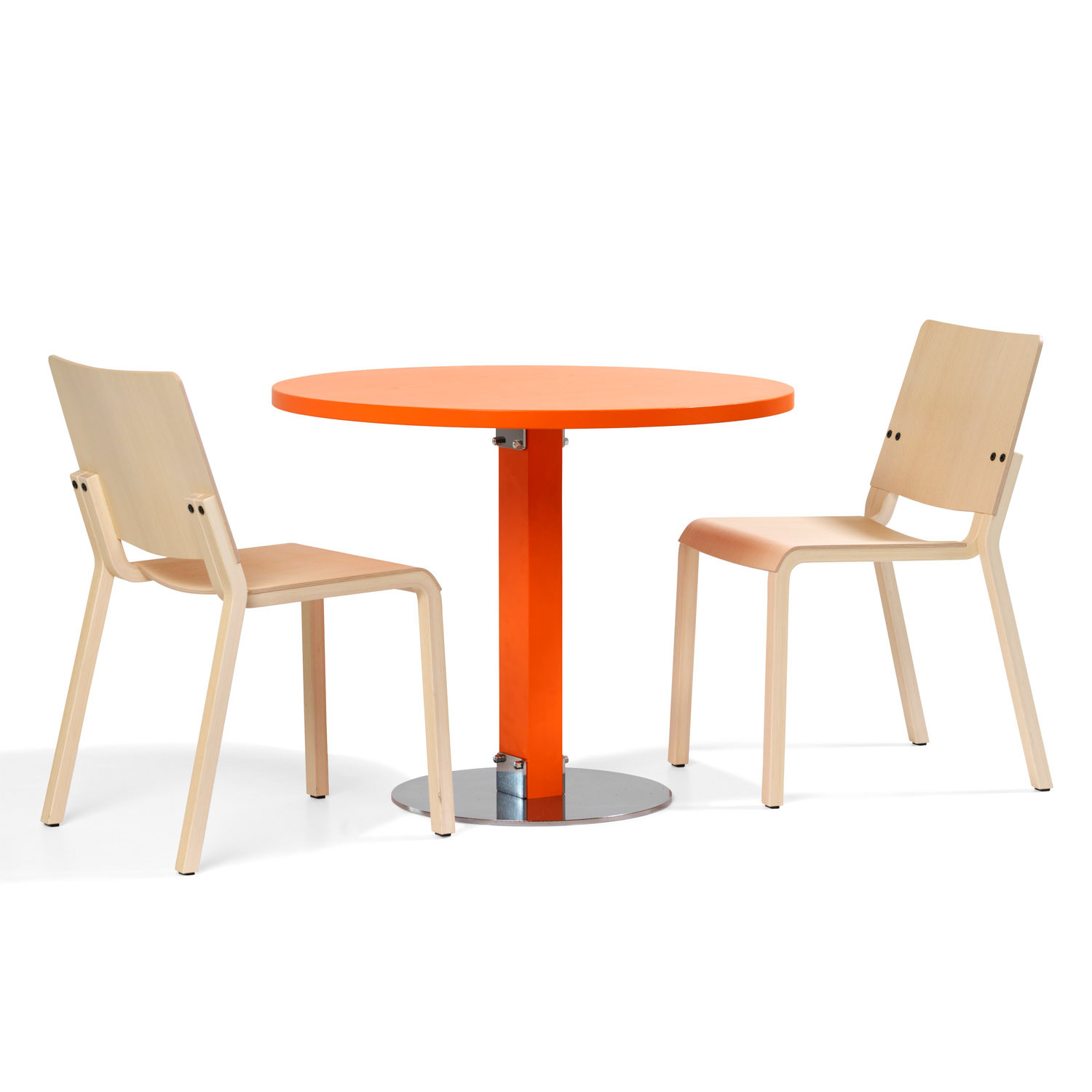 B904 Vivi 4 Cafe Chair & Table by Bla Station