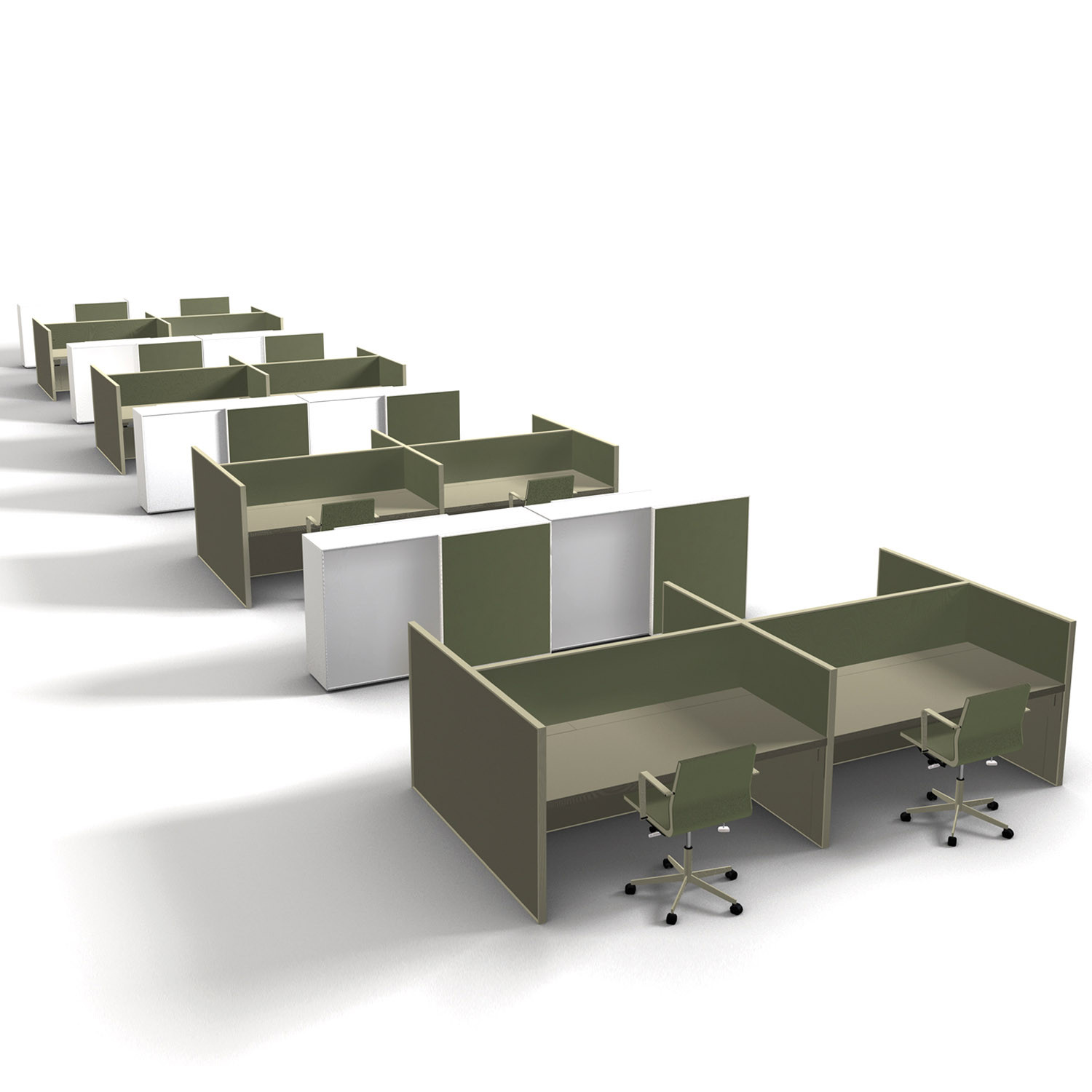 Van Duysen Bench Desks