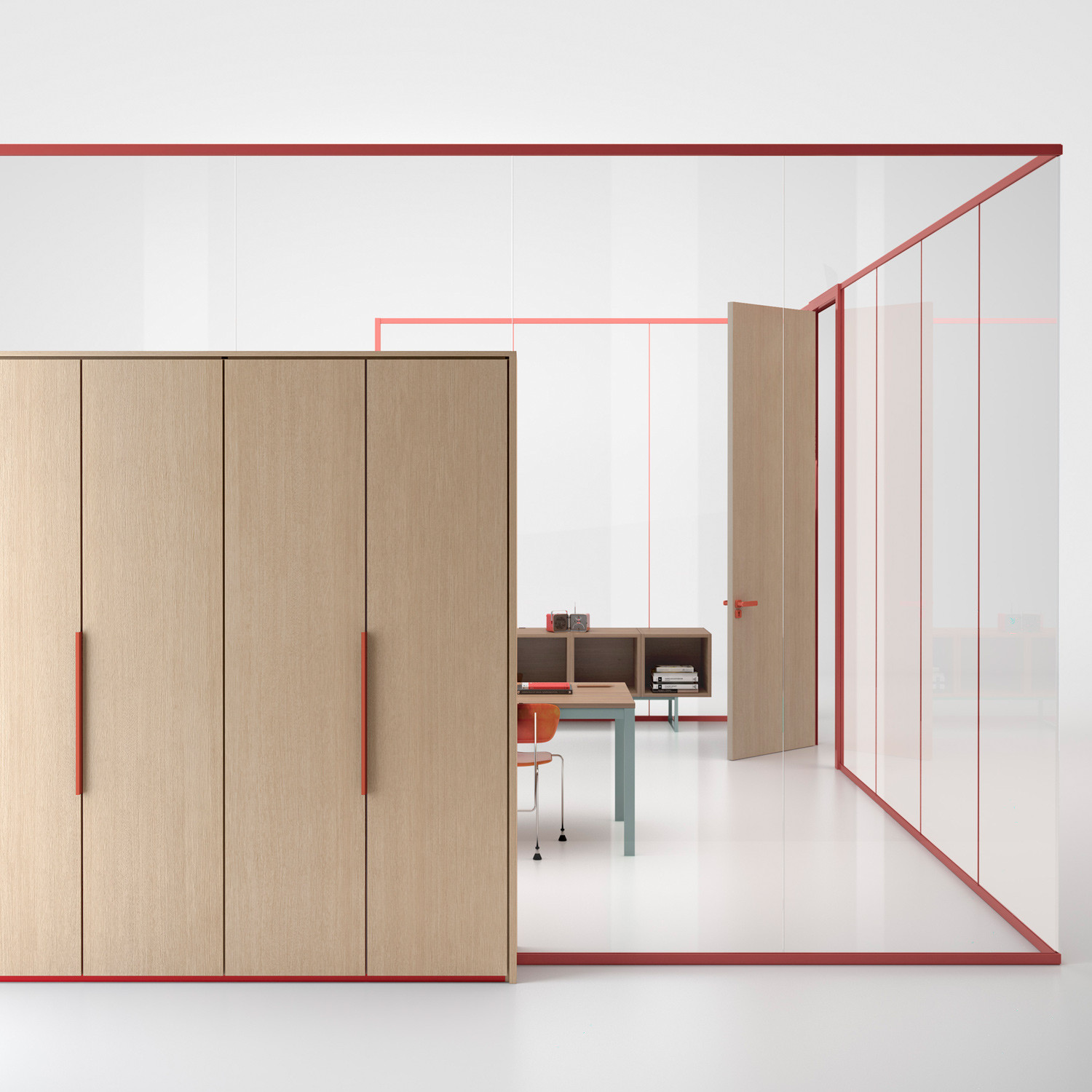Wallsystem Office Partitioning