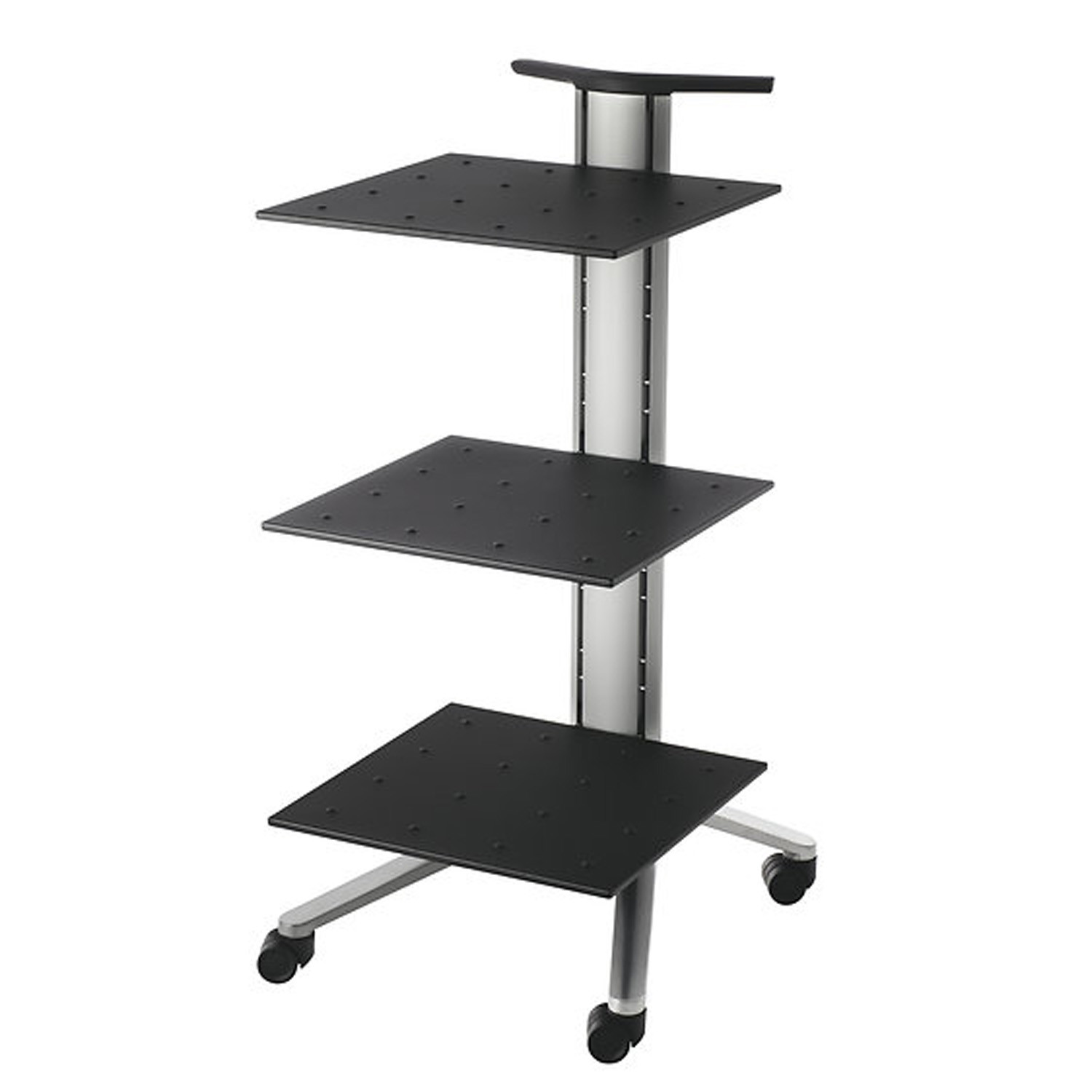 Confair Mobile Lectern with shelves