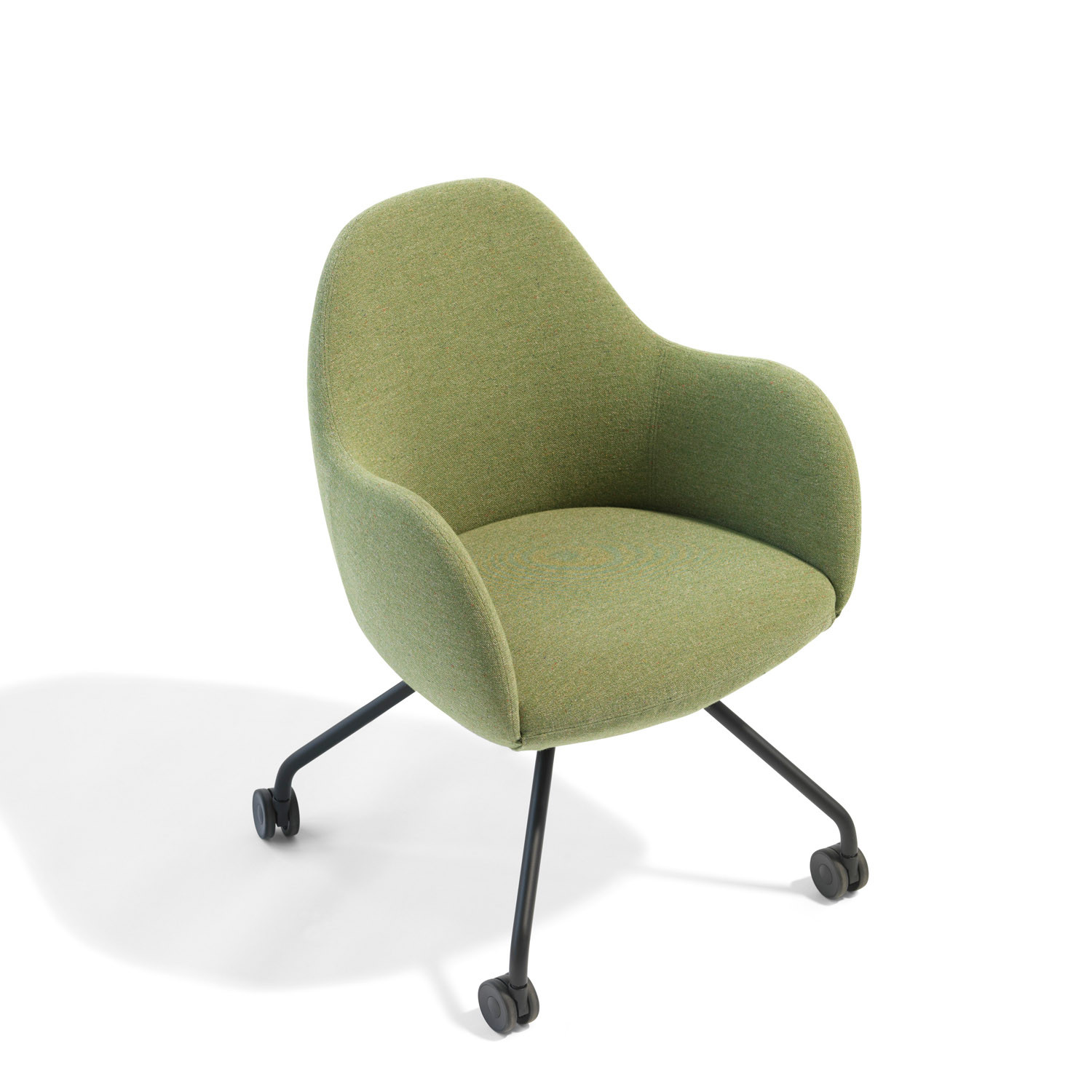 Wilmer C Lounge Chair on Castors O59
