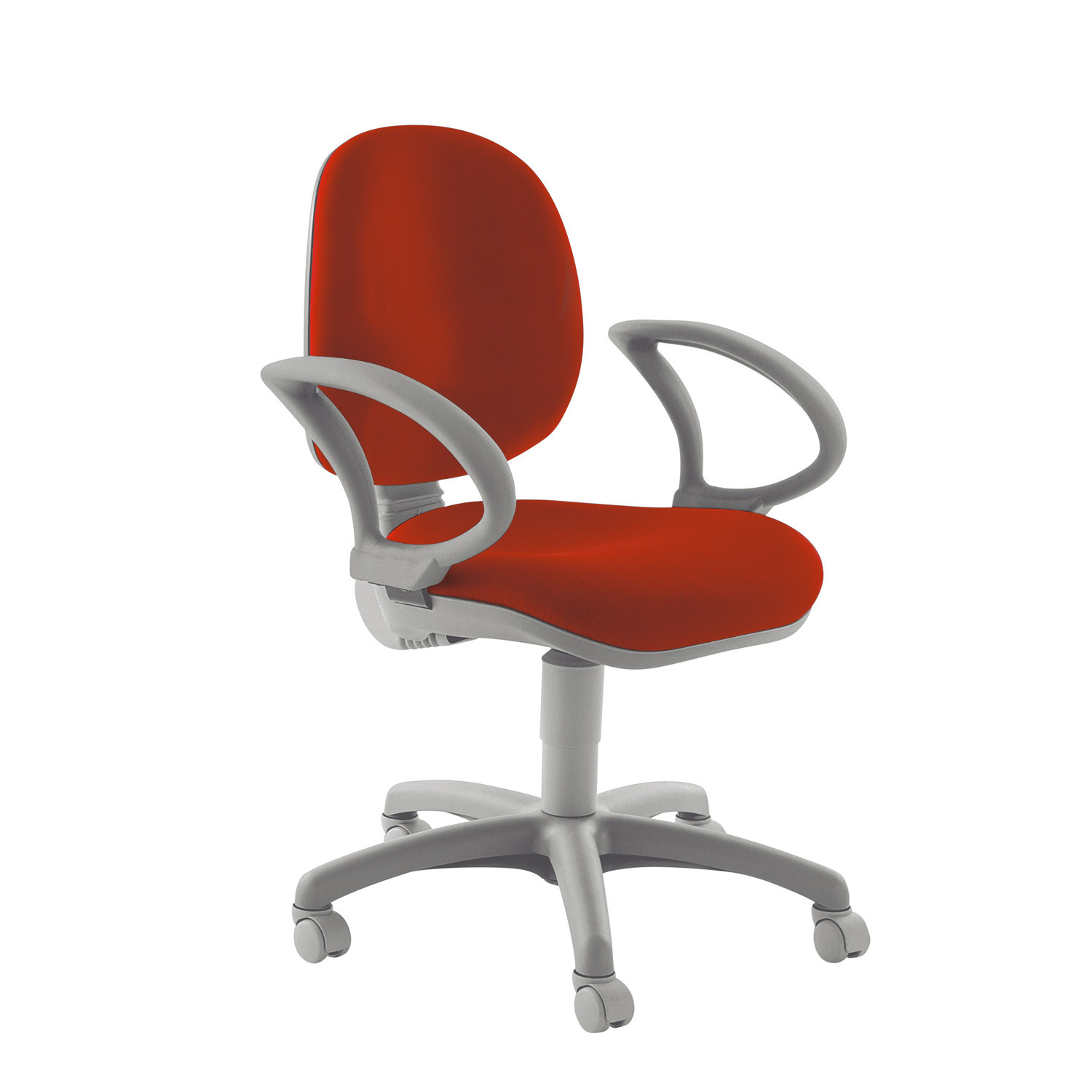 Wing Office Chair with Adjustable Armrests