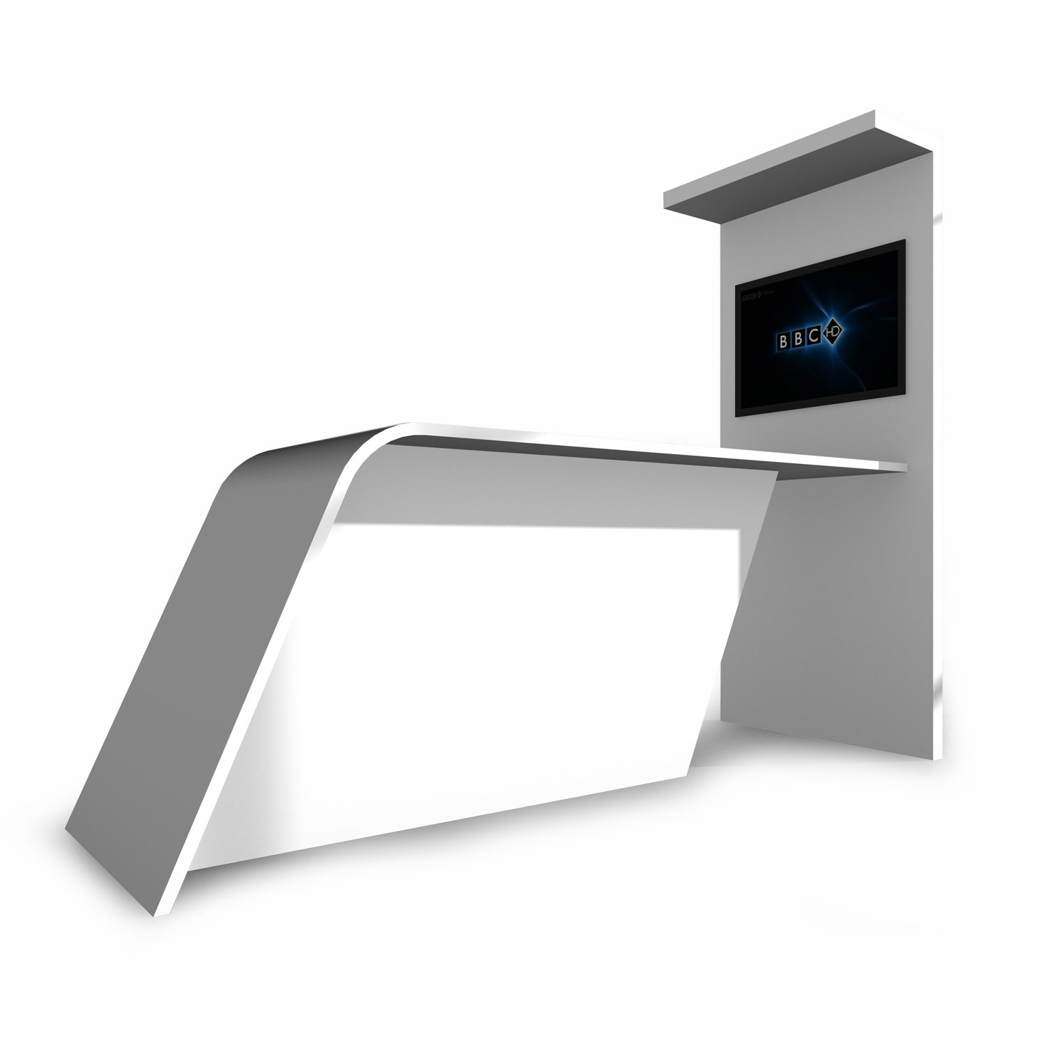 Wing High Table Media Unit