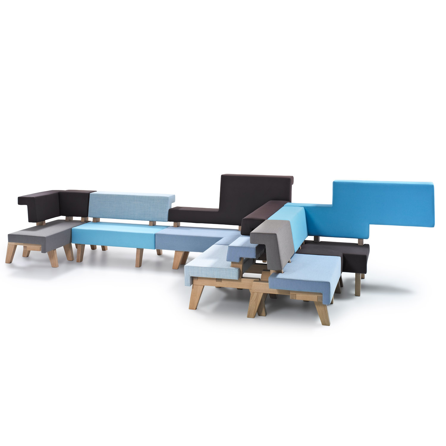 #002 WorkSofa from PROOFF