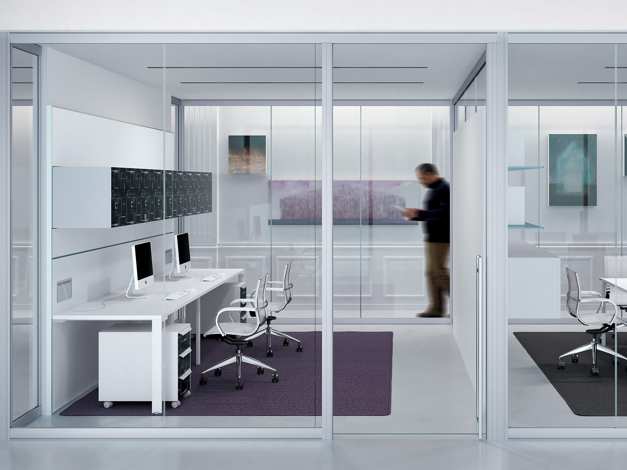 Workwall Sound Absorbing Partitions