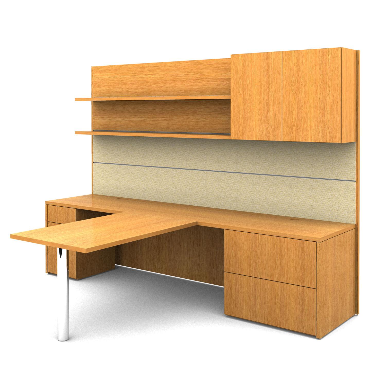 Crome Workwall Desking