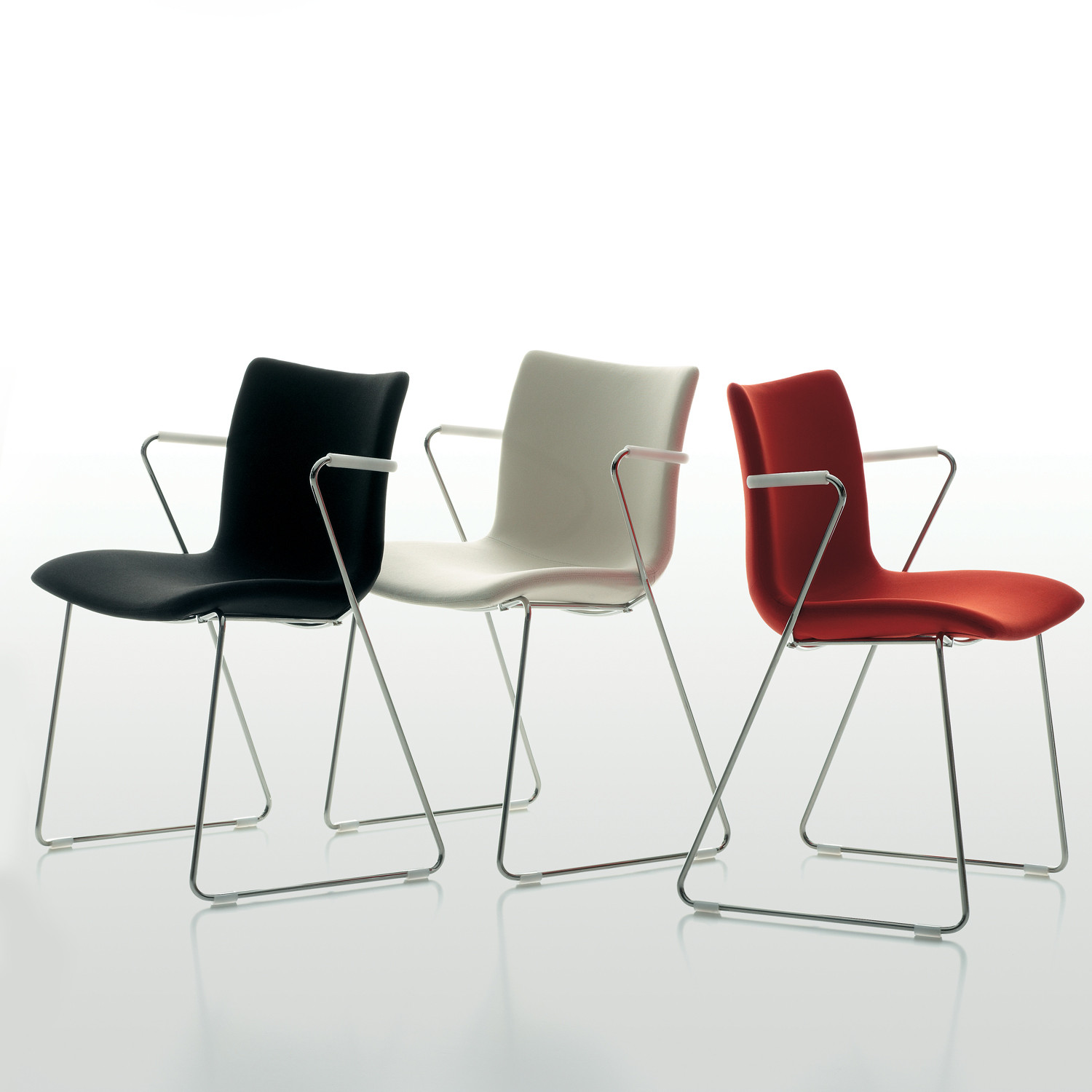 X3.3 Sled Base Chairs by MaxDesign