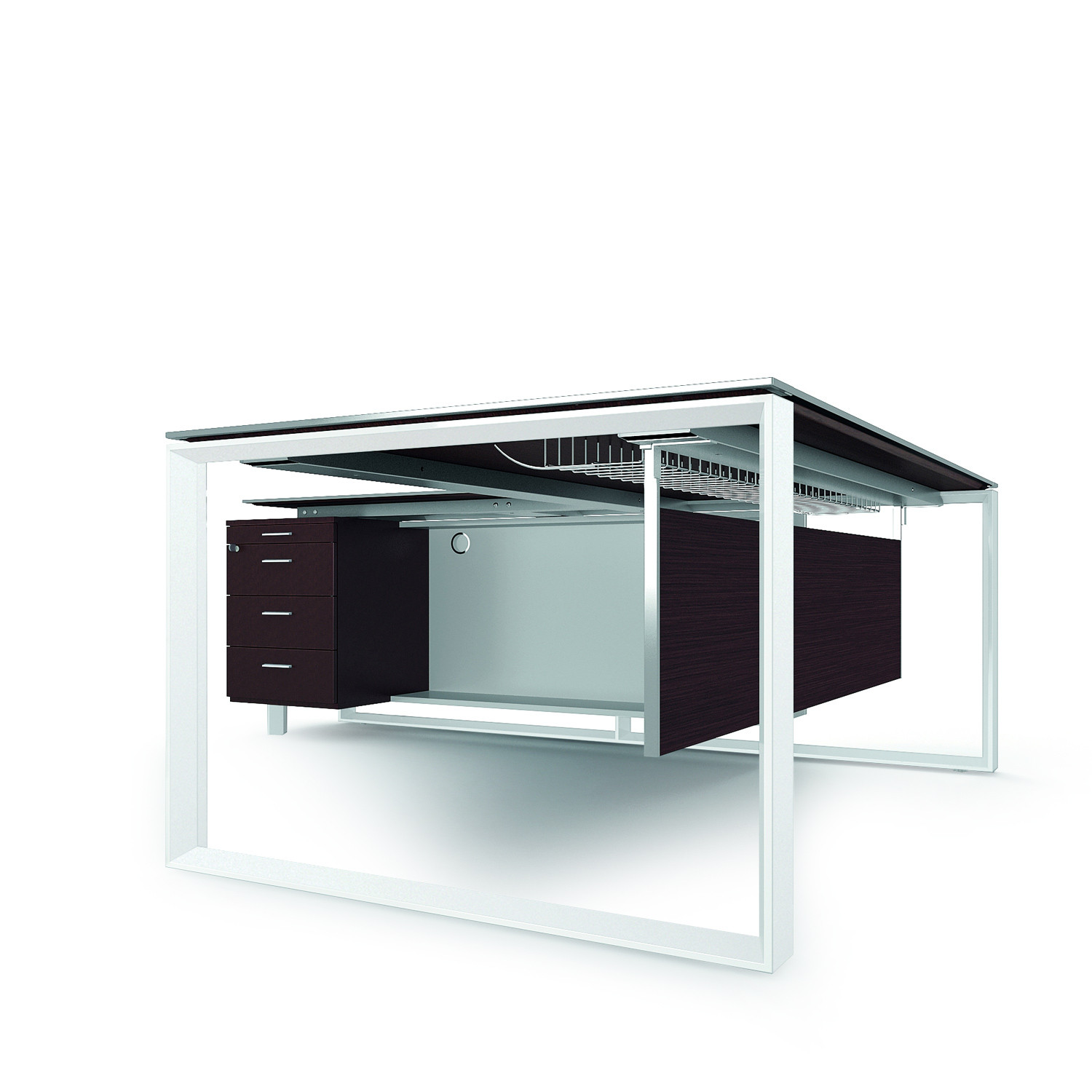 X7 Executive Office Desk Storage