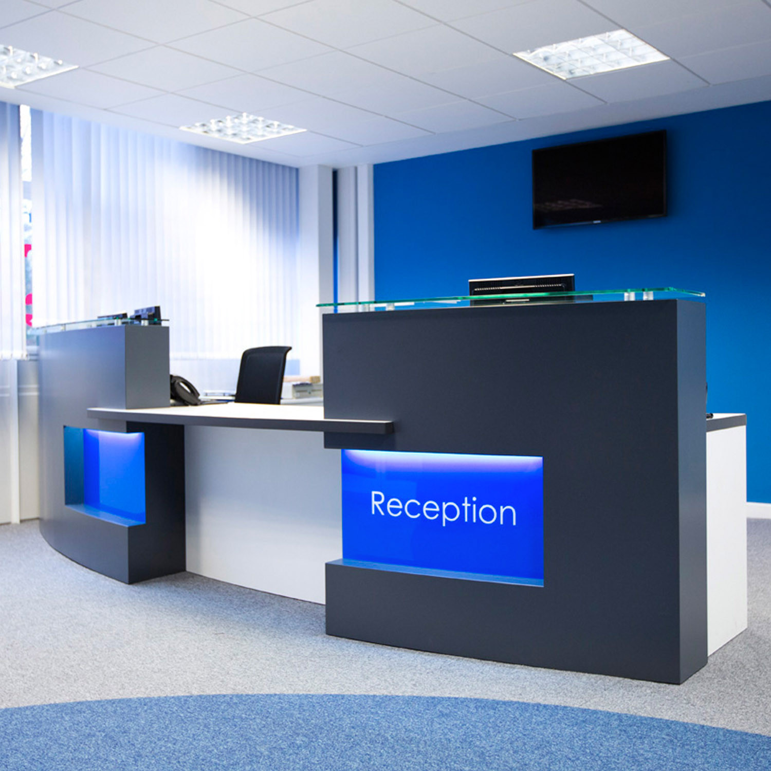 Clark Rendall Evolution Xpression Reception Desk
