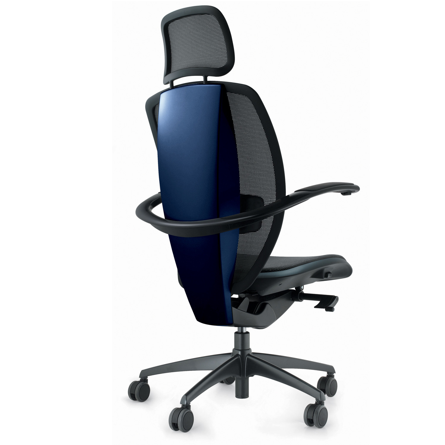Xten Executive Office Chair with headrest back detail