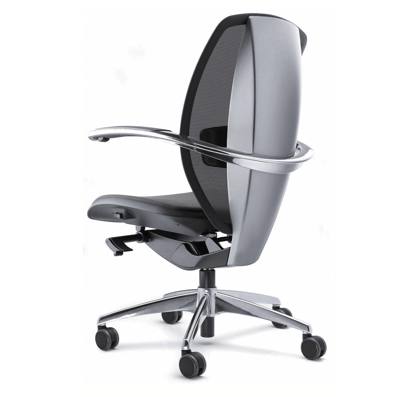Xten Office Chair back detail